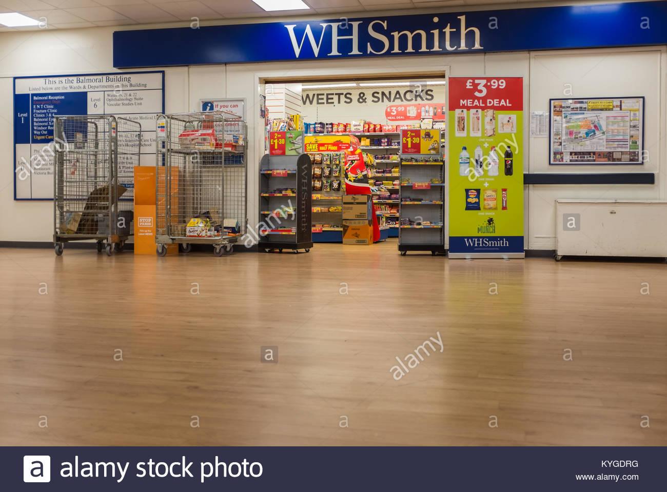 W H Smiths shop Werbung Angebote, verschiedene Süßigkeiten und ...