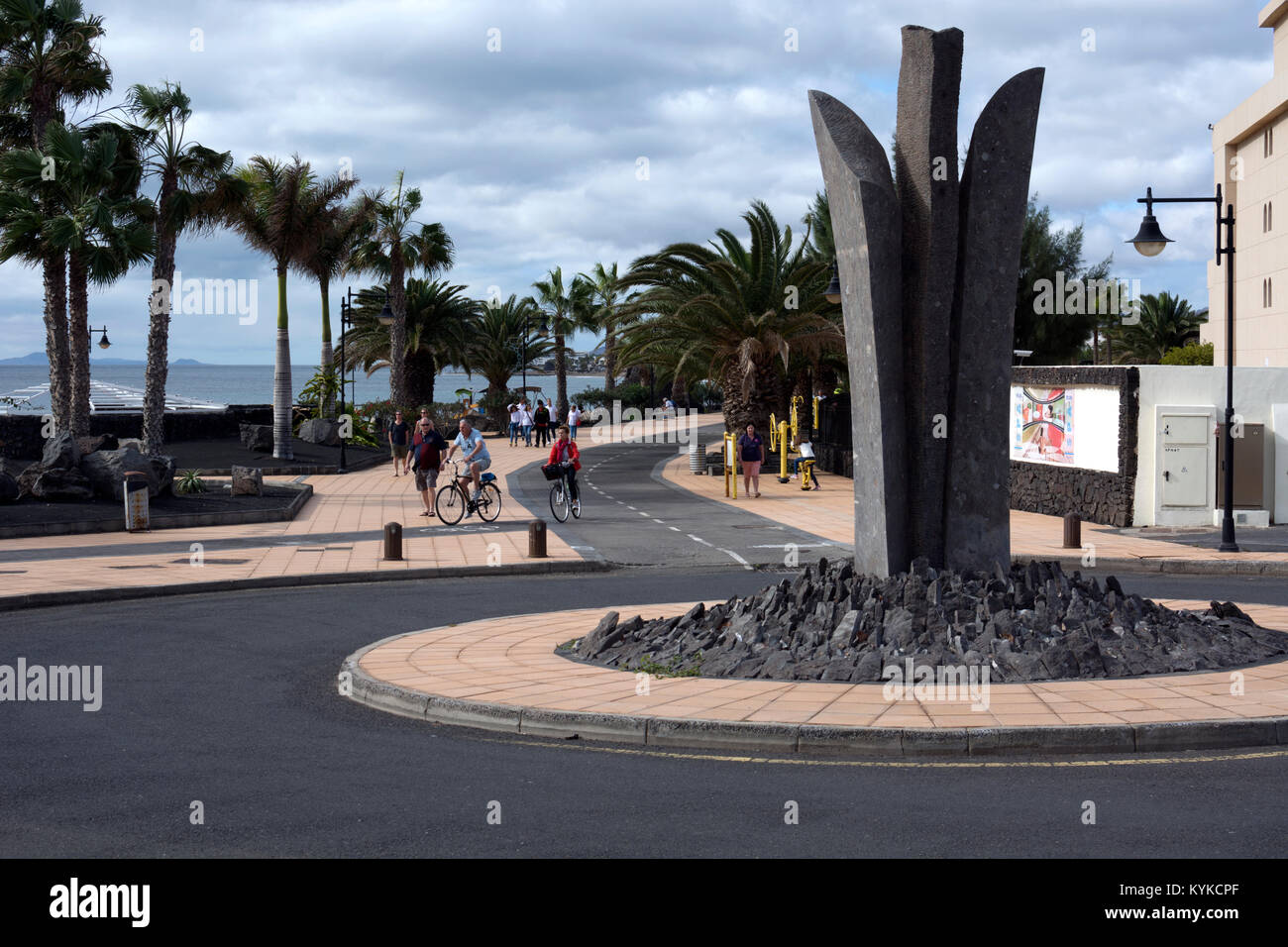 Playa Matagorda, Lanzarote, Kanarische Inseln, Spanien. Stockbild