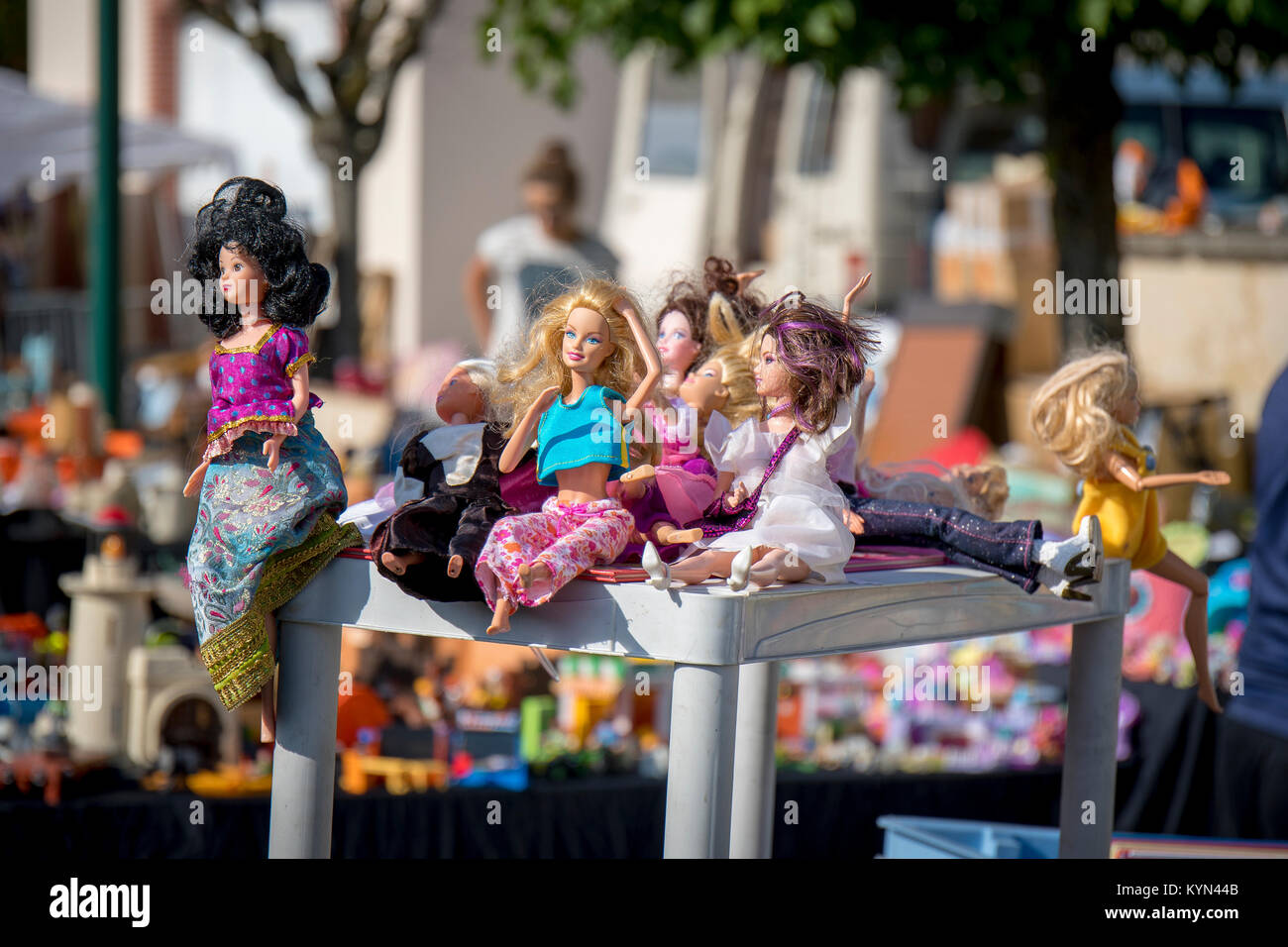 Kinder Barbie Stockfotos & Kinder Barbie Bilder Alamy