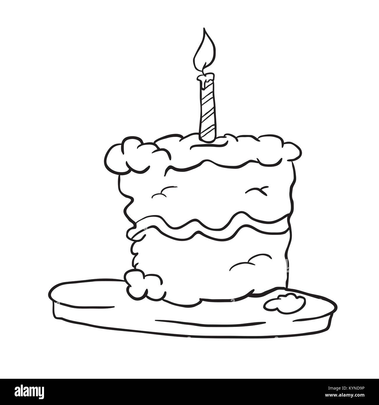 Cake Cartoon Stockfotos & Cake Cartoon Bilder - Alamy