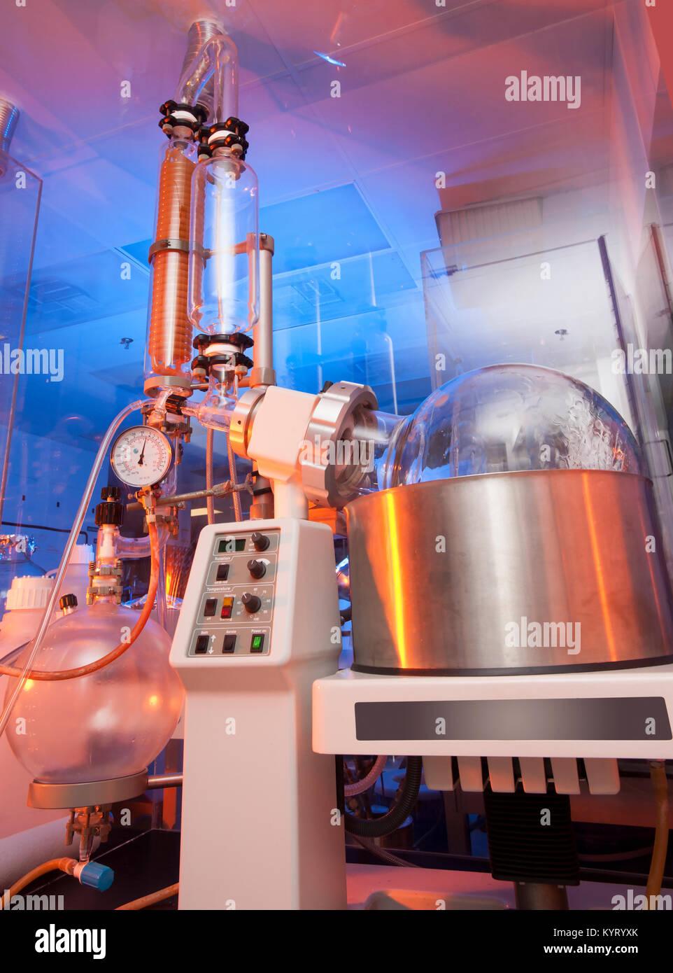 Chemische und Medizinische Biologie Labor Forschung Glaswaren Stockbild