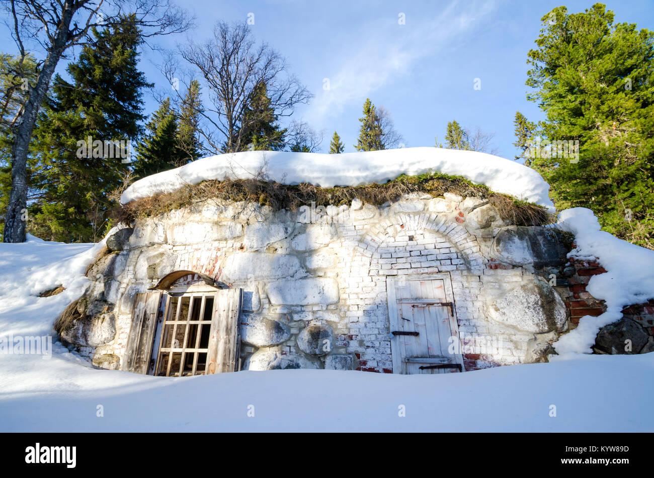 Kühlschrank Aufbewahrung : Ein stein kühlschrank im solovetsky kloster der keller zur