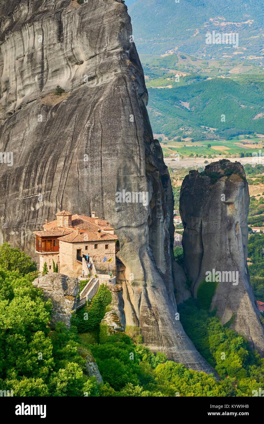 Kloster von Meteora, Griechenland Stockbild