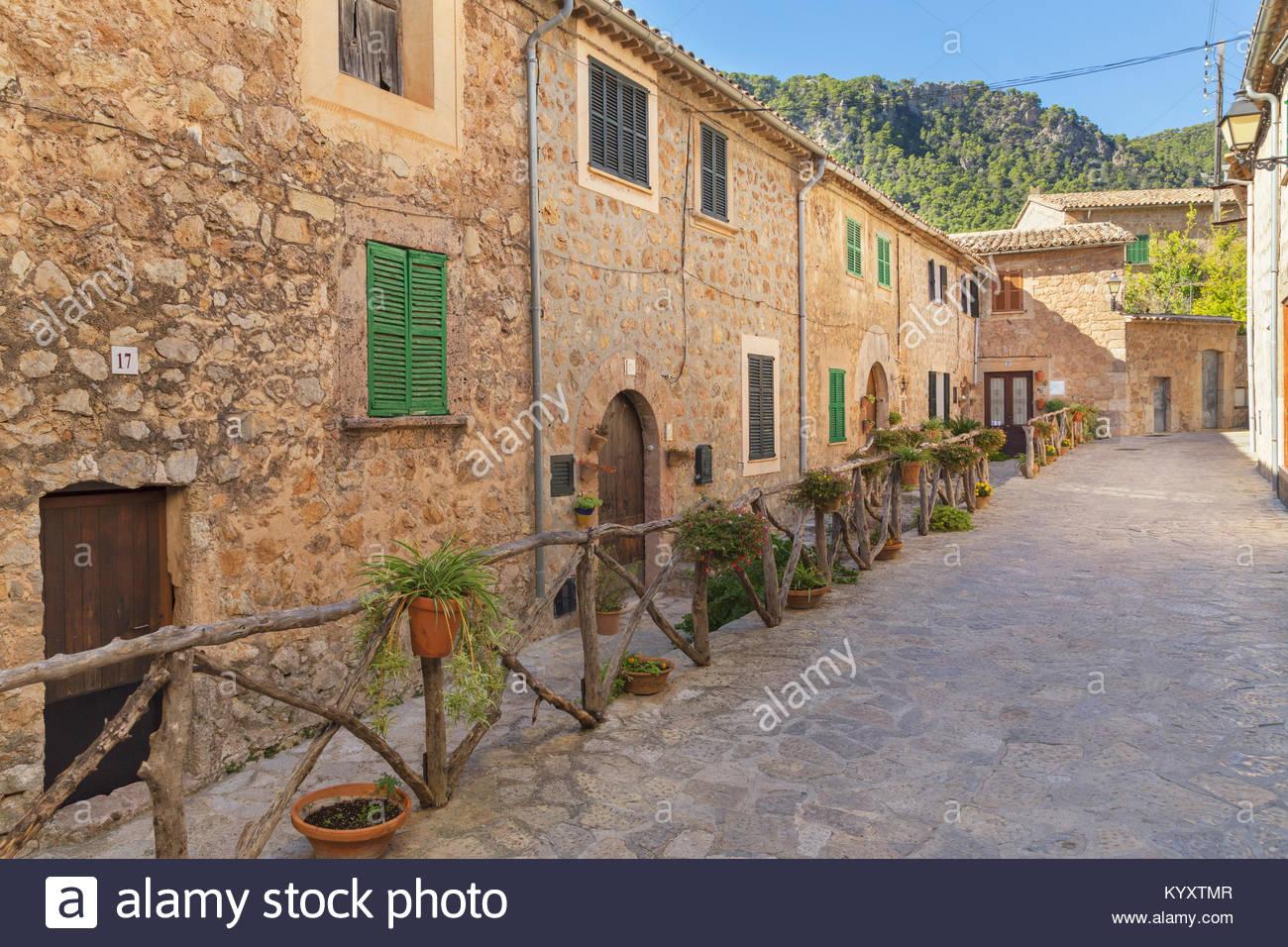 Valldemossa, Mallorca, Balearische Inseln, Spanien, Europa Stockbild
