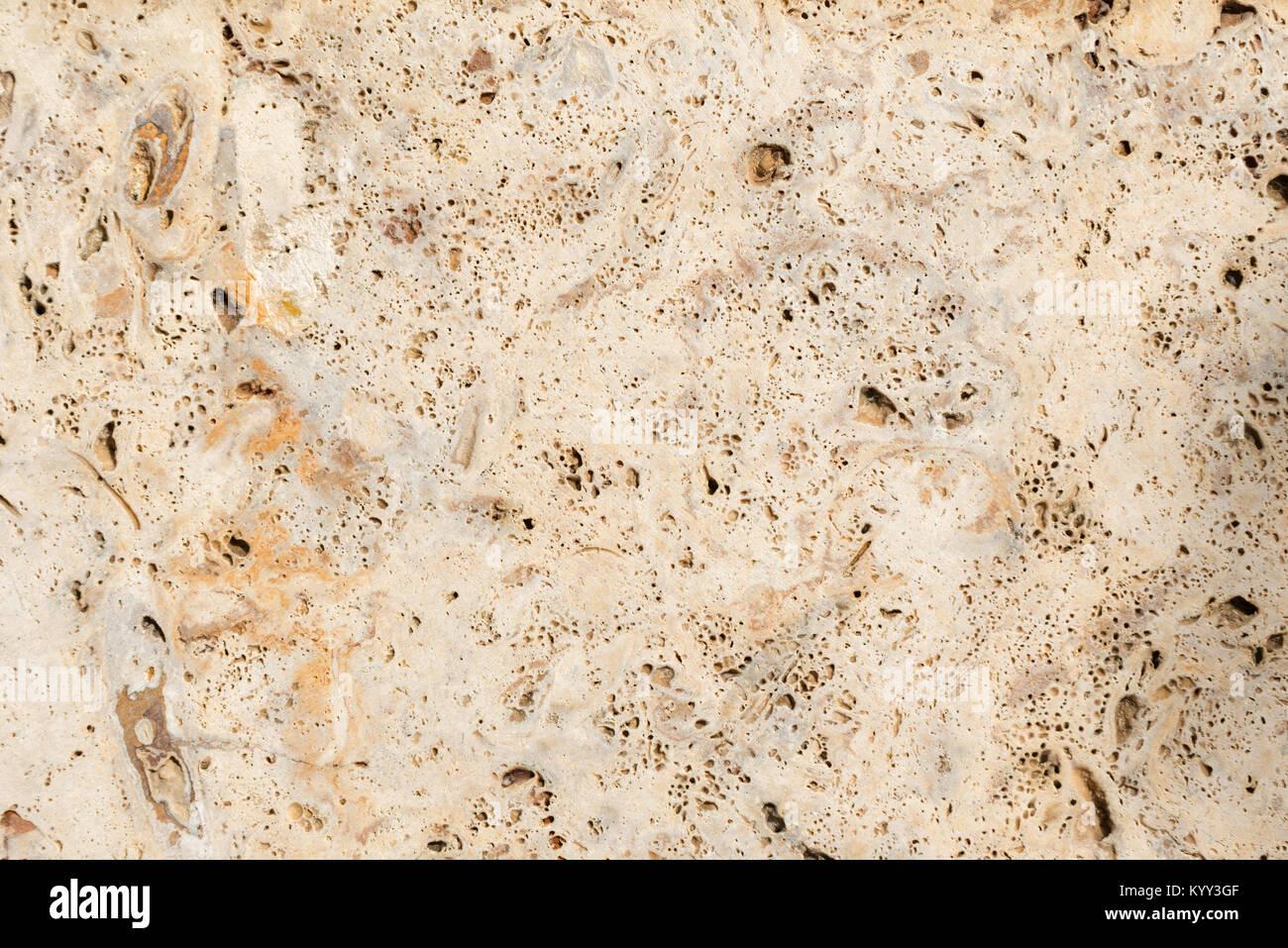 Hintergrund Textur aus Kalkstein ist anfällig für Erosion Stockbild