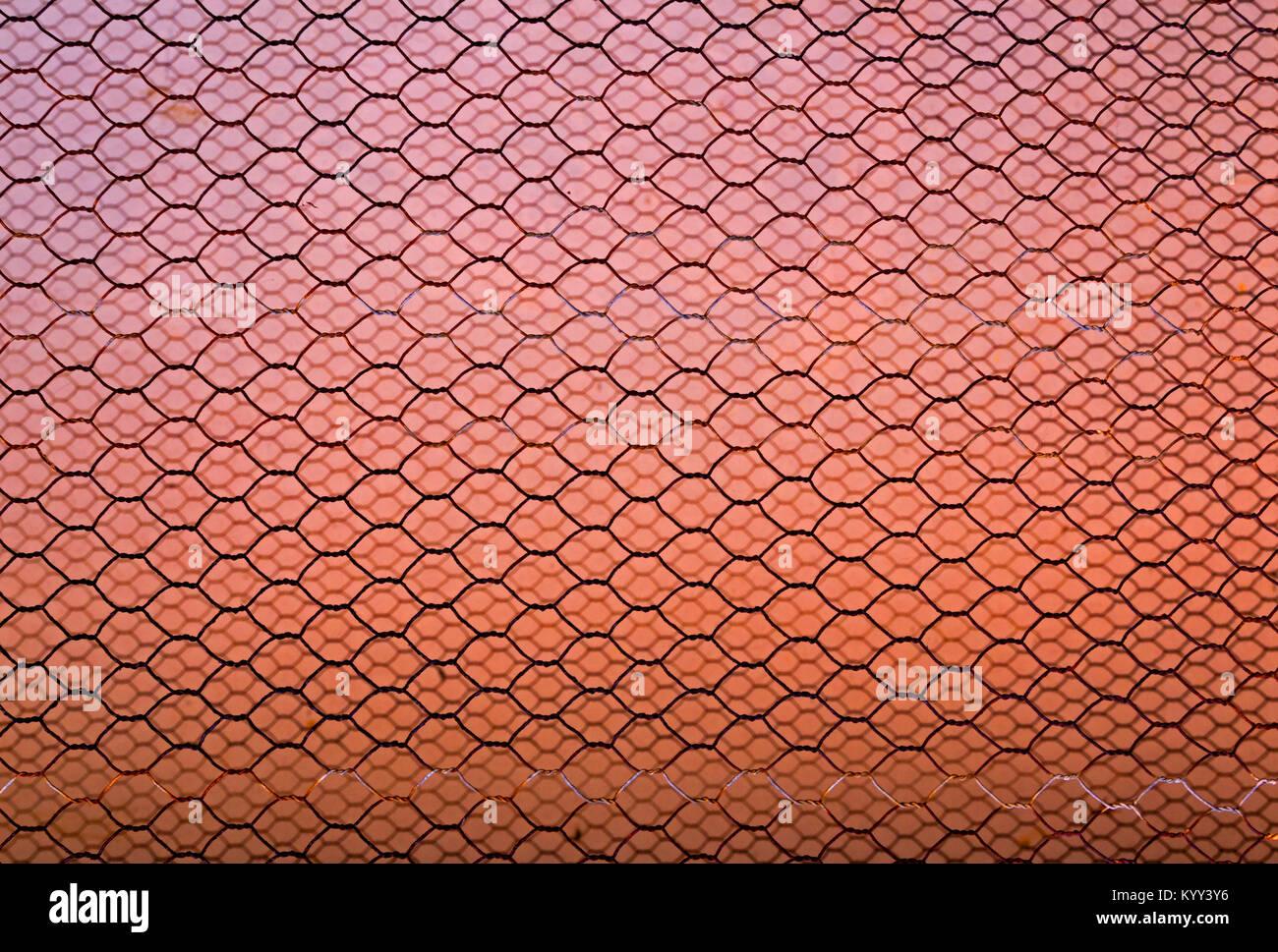 Extreme Nahaufnahme von unscharfen Muster und Texturen der rostigen ...