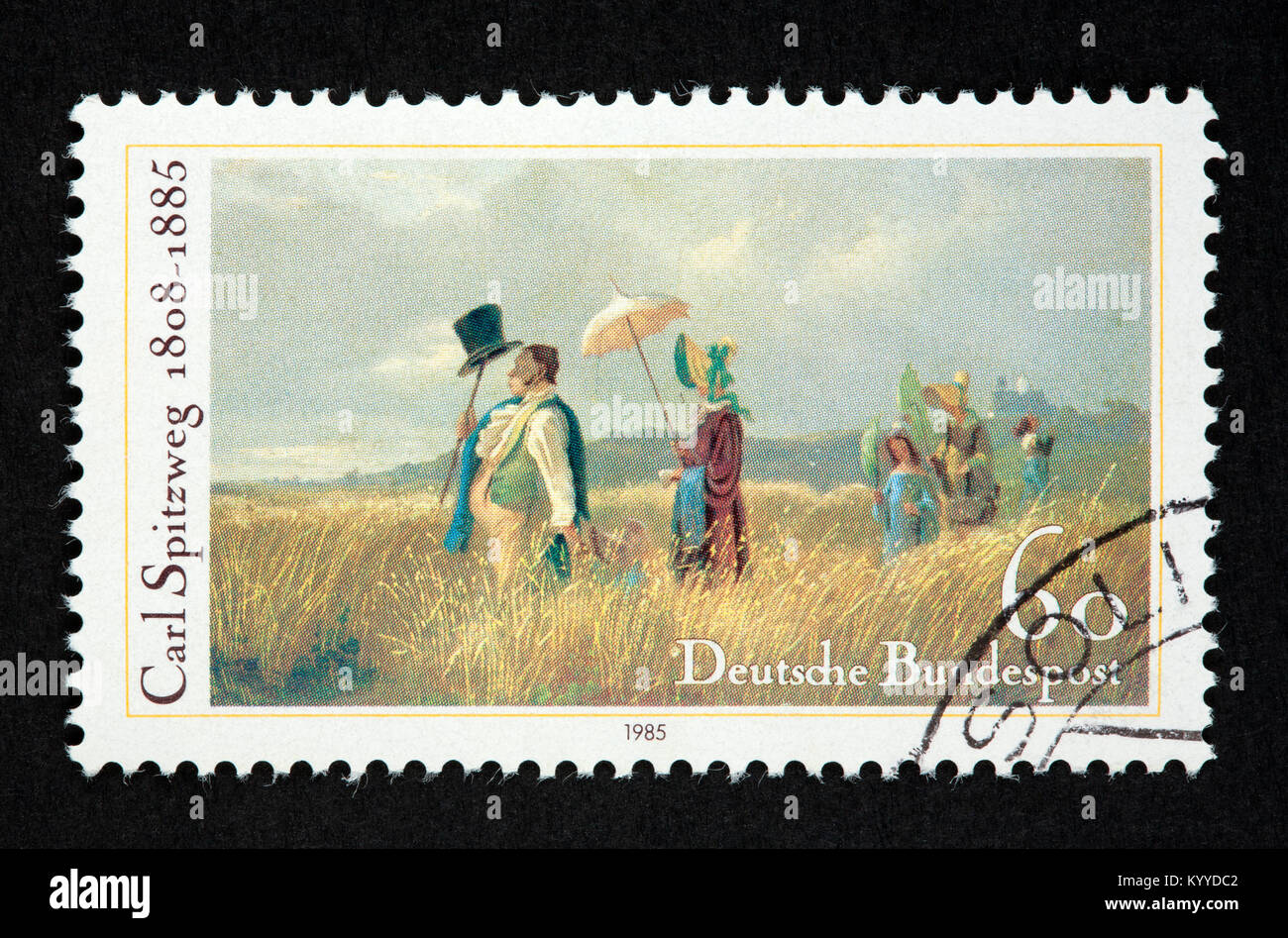 Deutsche Briefmarke Stockfoto Bild 172092258 Alamy