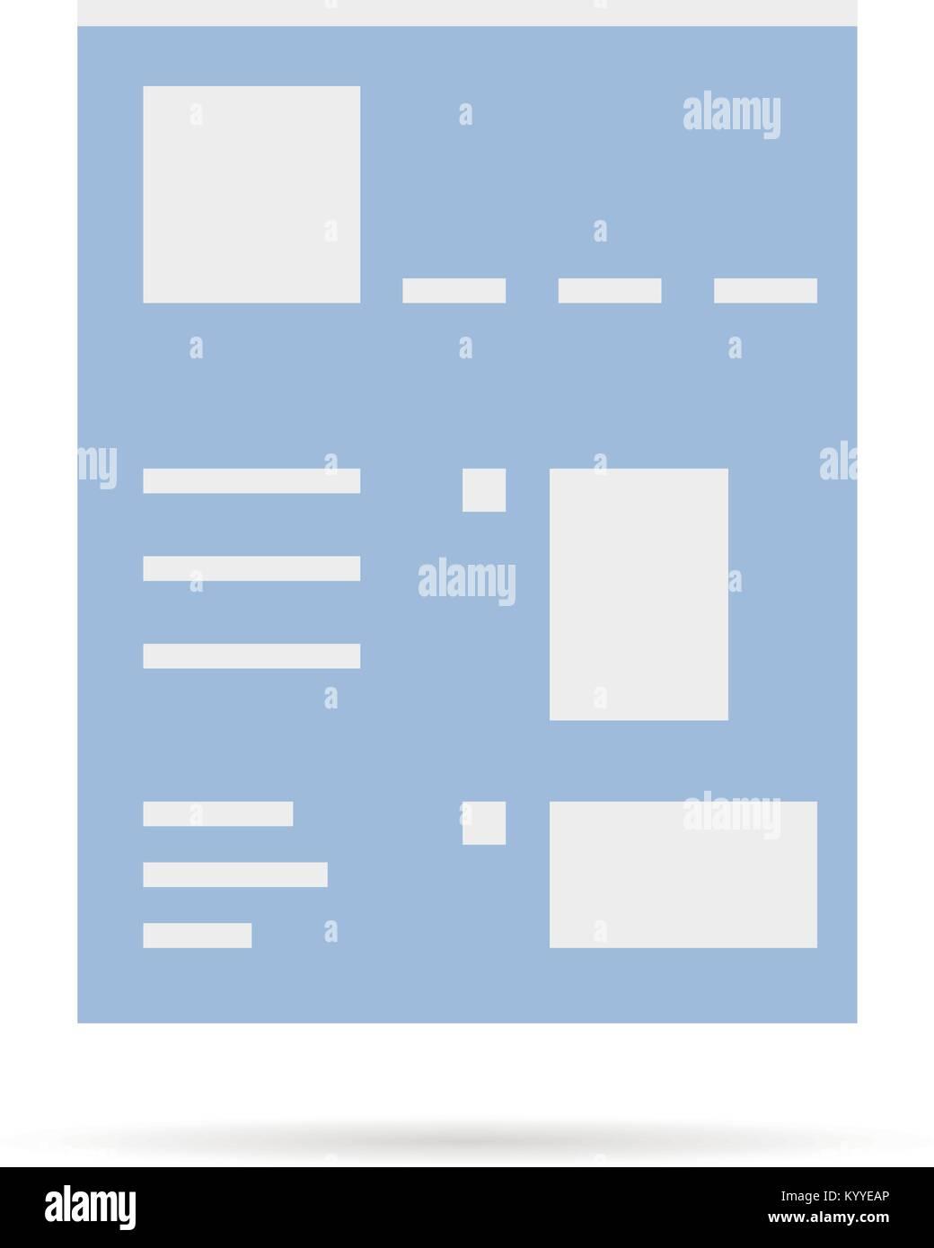 Wunderbar Einfache Seitenvorlage Galerie - Beispiel Business ...