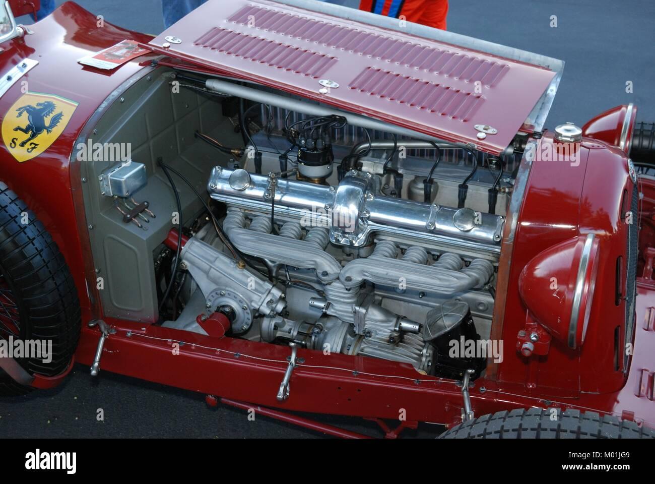 1930 Scuderia Ferrari Alfa Romeo 8c Stockfotografie Alamy