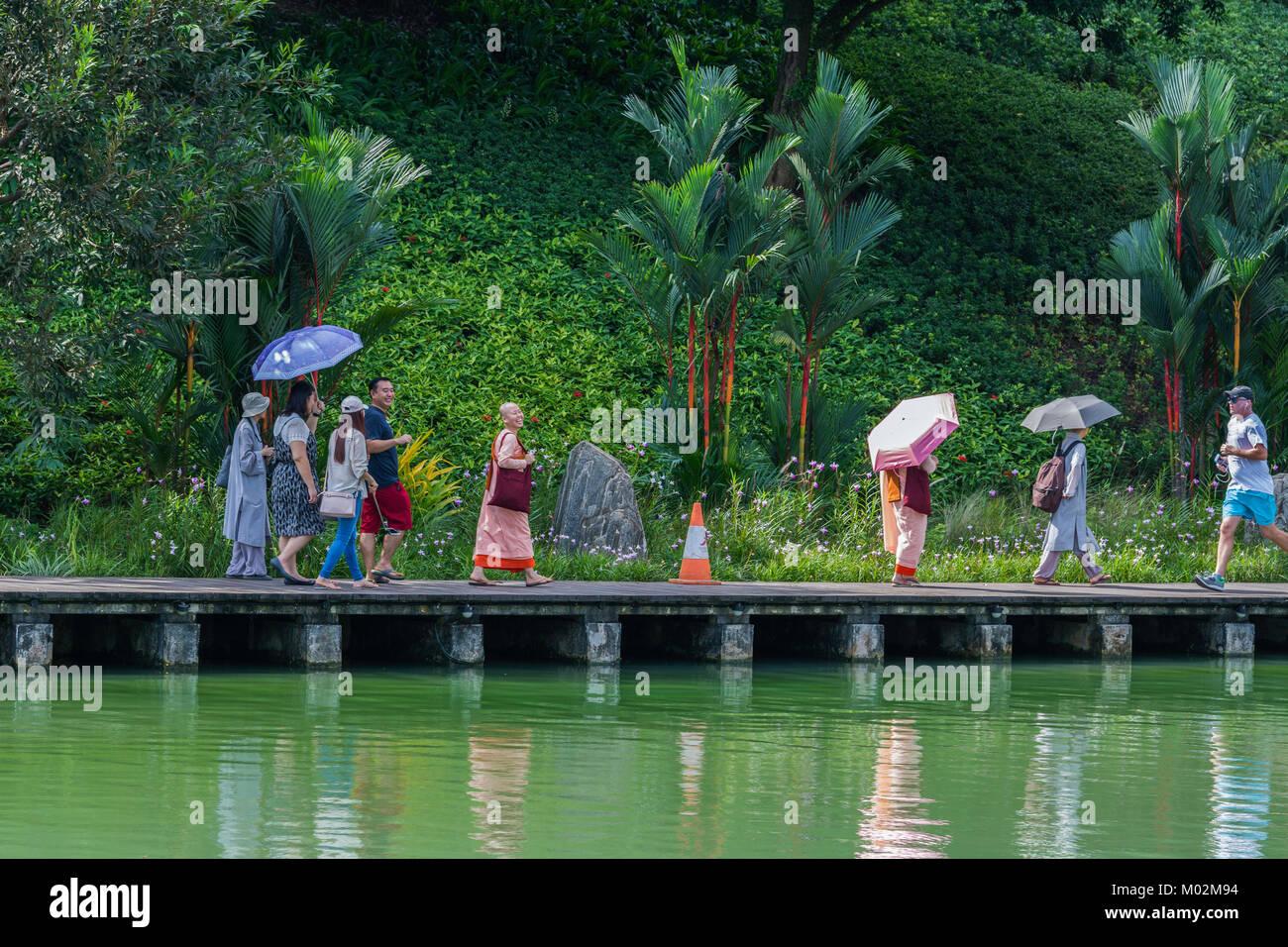 Gardens by the Bay, Marina Bay, Singapore Stockbild