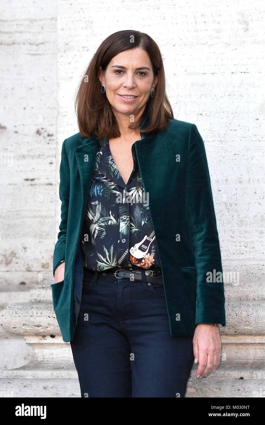 """Fotoauftrag der italienischen Komödie 'Amori che non sanno Stare al Mondo"""" dargestellt: Regisseur Stockbild"""