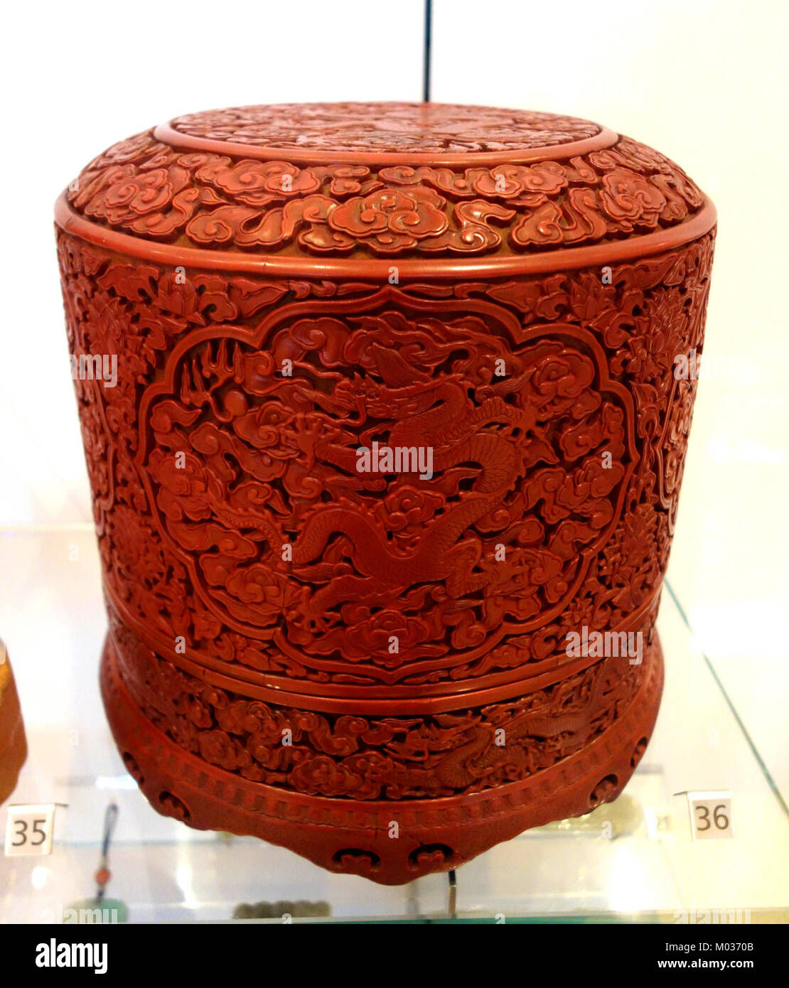 box, china, ming-dynastie, yanglo periode, 1403-1424, holz, lack