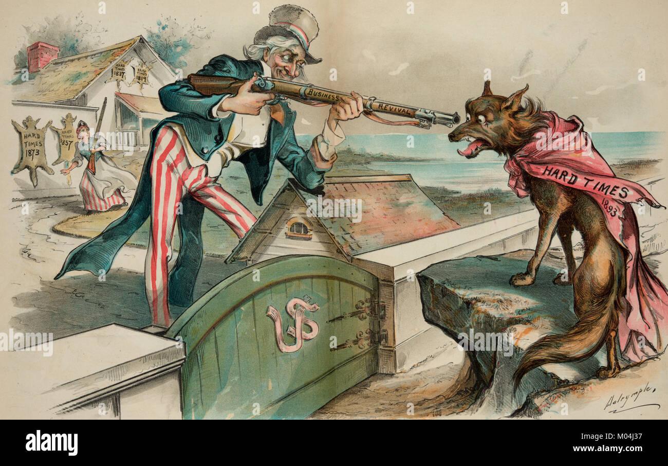 Ein weiteres Ausblenden getroffen werden - Drucken zeigt ein Wolf trägt einen roten Mantel mit der Aufschrift Stockbild