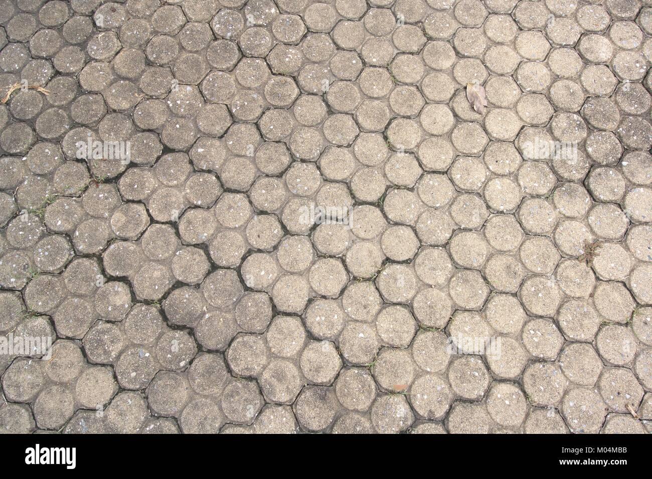 Fußboden Aus Ziegel ~ Gemusterte fliesen zement ziegel fußboden hintergrund stockfoto