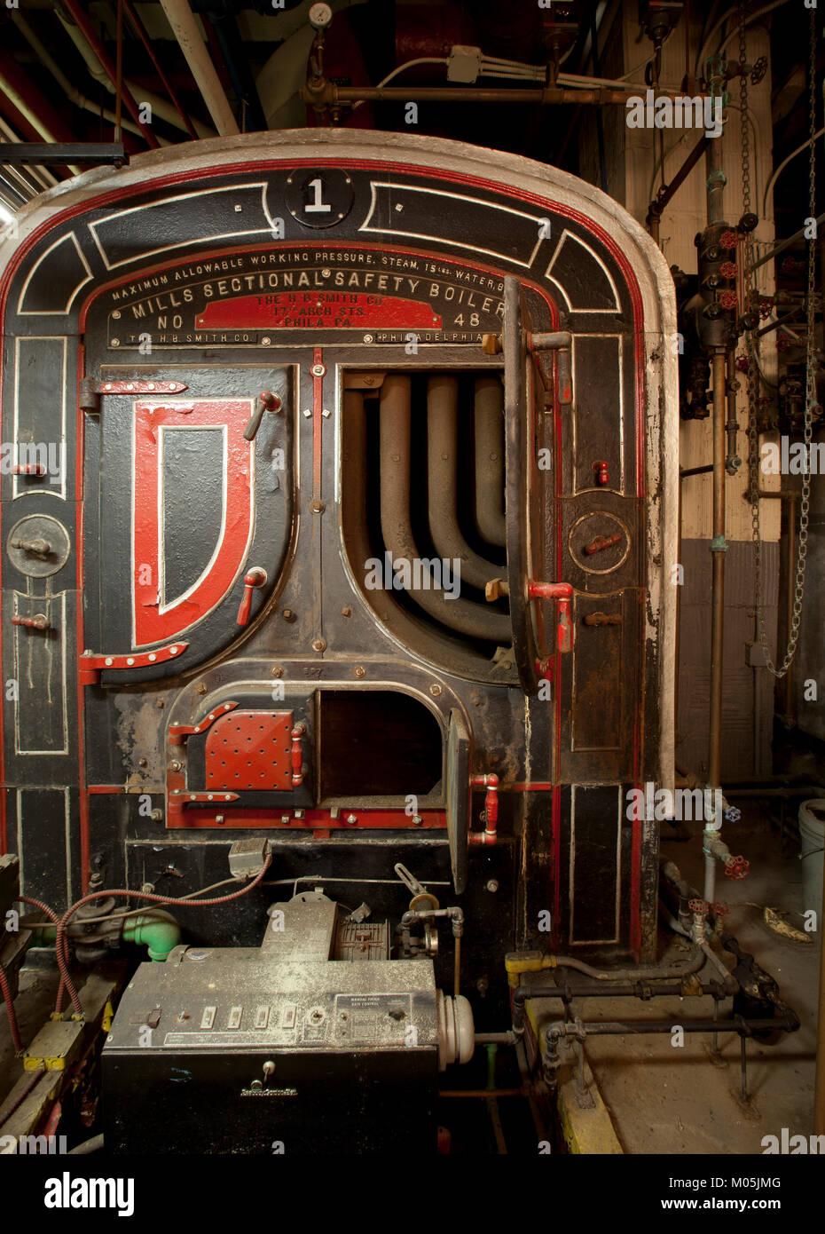 Dampf Kessel Stockfoto, Bild: 172228128 - Alamy