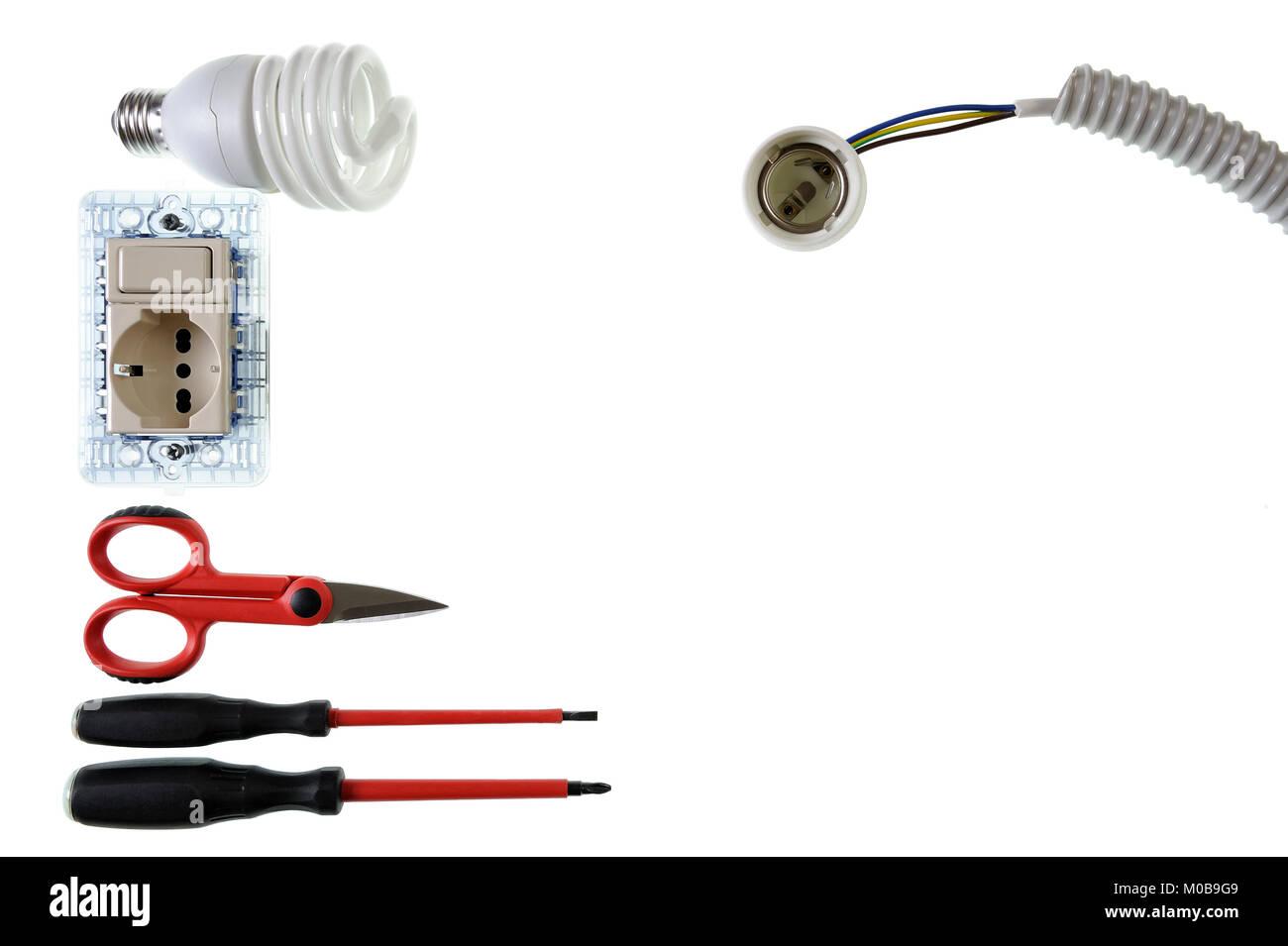 Tolle Steckdose Elektrische Verkabelung Fotos - Der Schaltplan ...