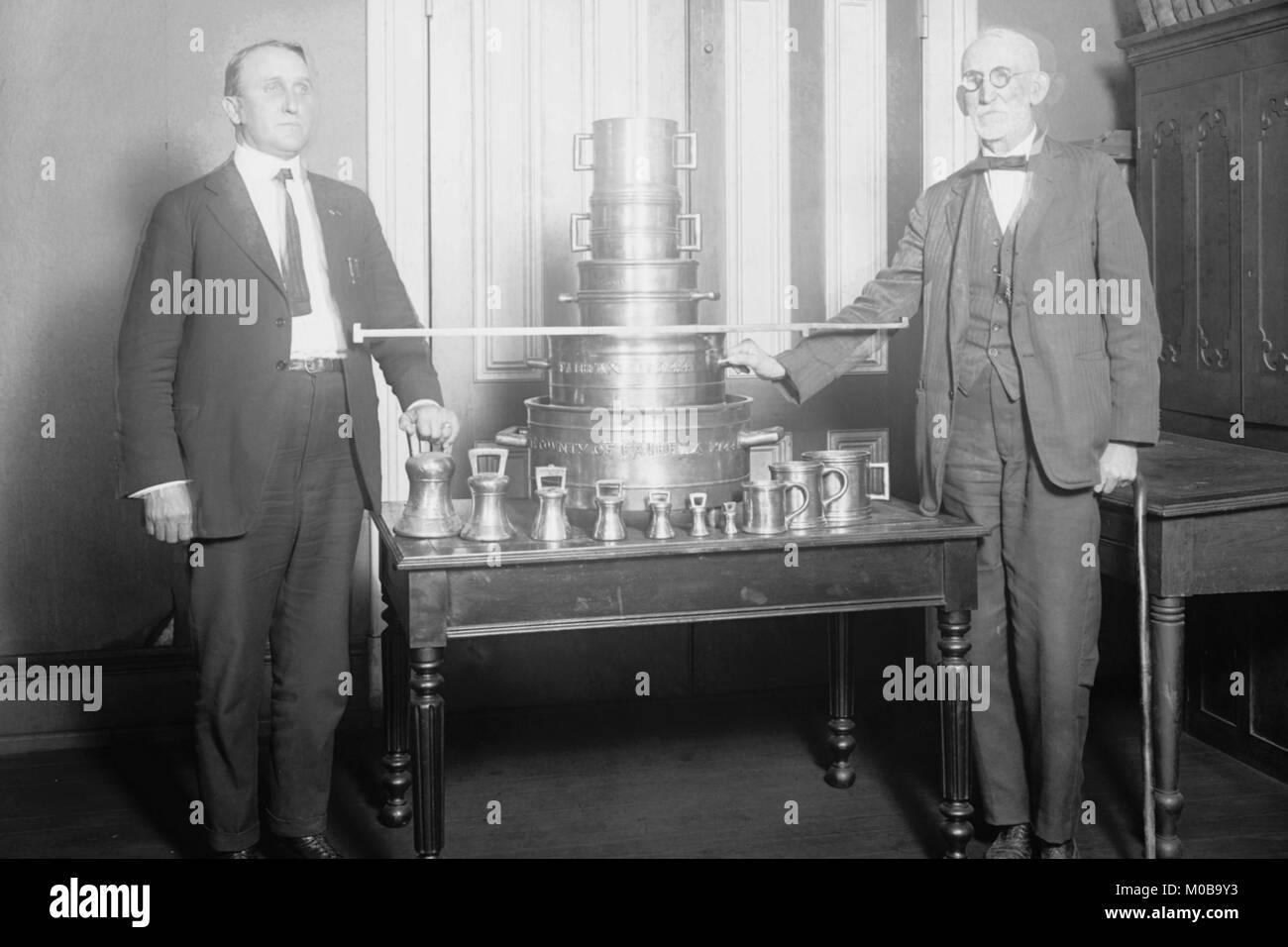 US-Regierung Büro der Maße & Gewichte Stockbild