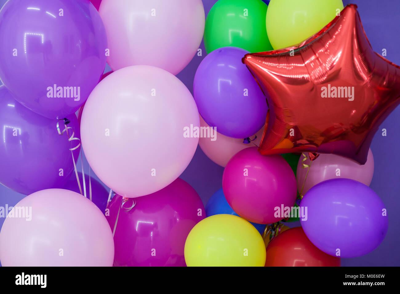 Schön Geburtstag Ballon Färbung Seite Zeitgenössisch - Malvorlagen ...