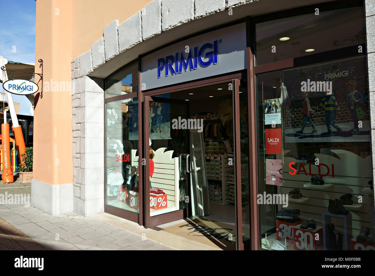 Primigi store in La Reggia Outlet, marcianise, Caserta, Italien ...