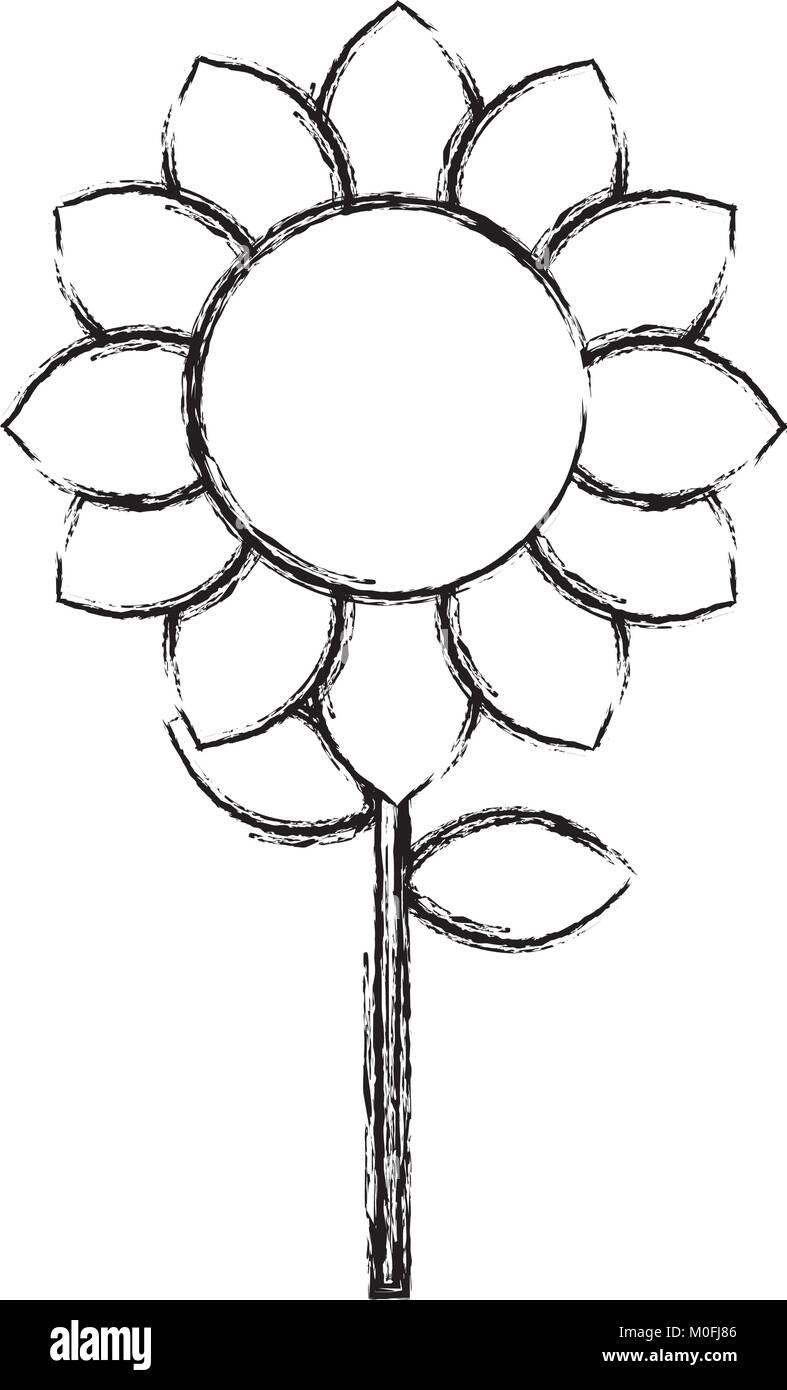 Ausgezeichnet Einfache Sonnenblumen Malvorlagen Galerie - Entry ...