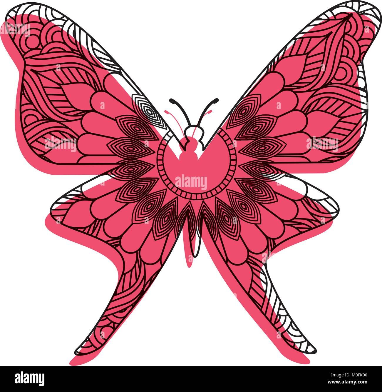 Ziemlich Erweiterte Malvorlagen Schmetterling Bilder ...