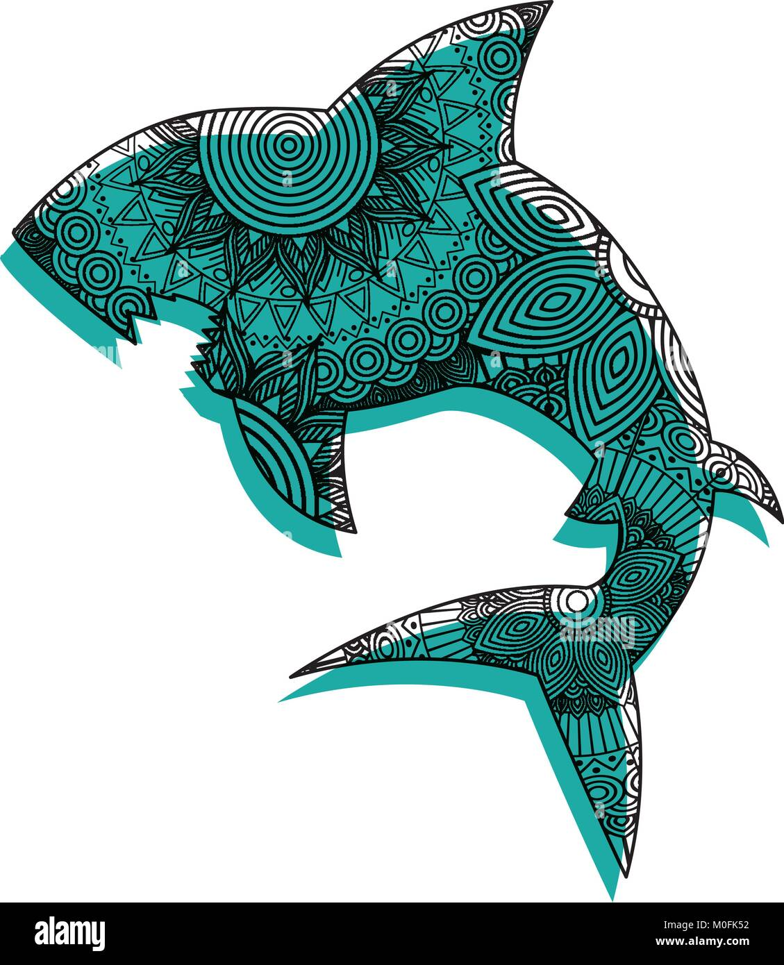 Shark Tribal Tattoo Stockfotos & Shark Tribal Tattoo Bilder - Alamy