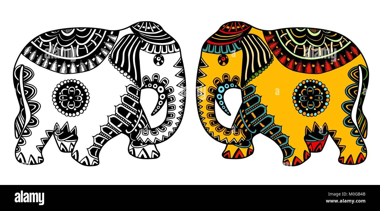 Großartig Malvorlage Des Indischen Elefanten Fotos ...