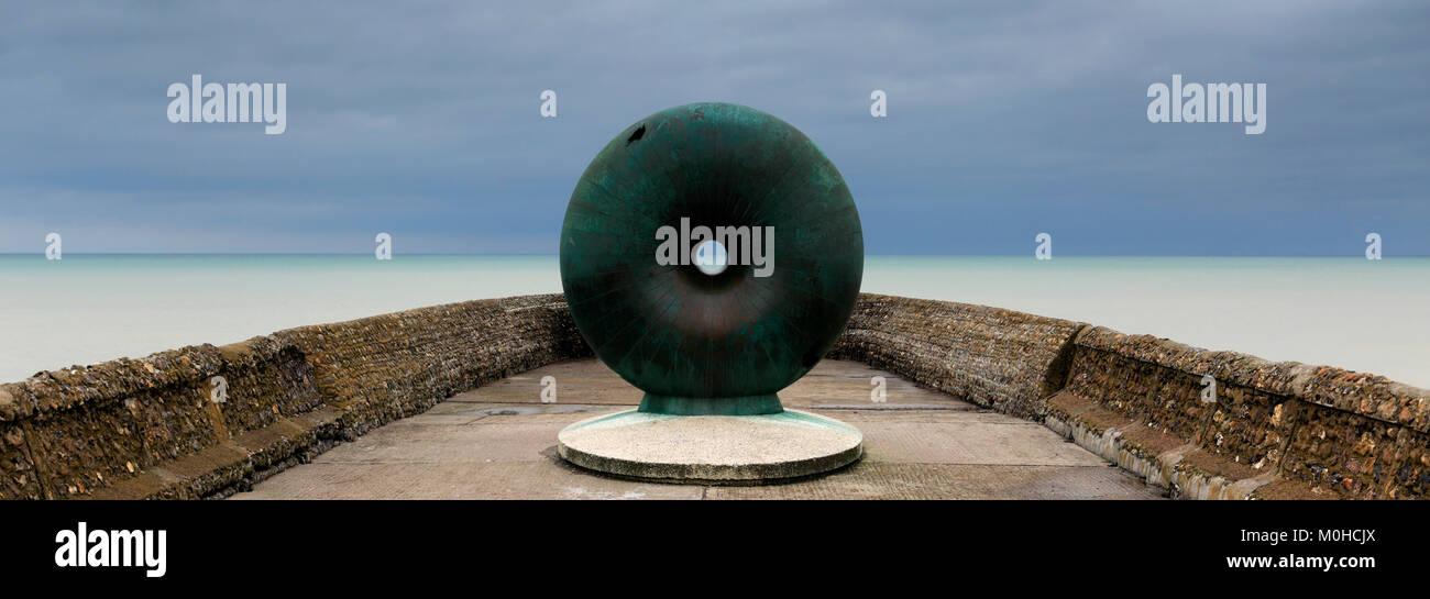 Die flott Skulptur, Brighton Palace Pier, Brighton & Hove, East Sussex, England, Großbritannien Stockbild