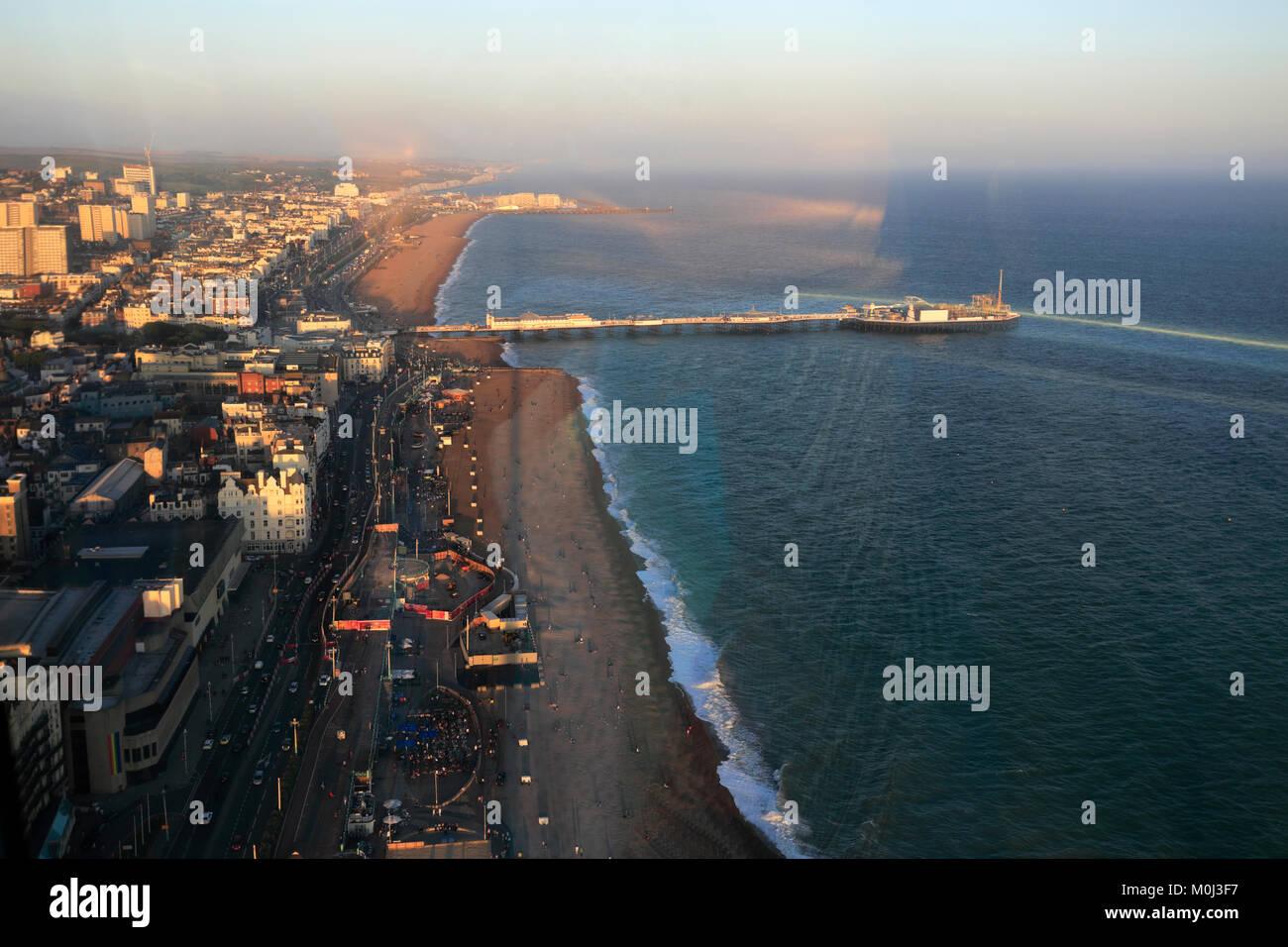 Die British Airways ich 360 Aussichtsturm, Brighton & Hove, Sussex, England, Großbritannien Stockbild