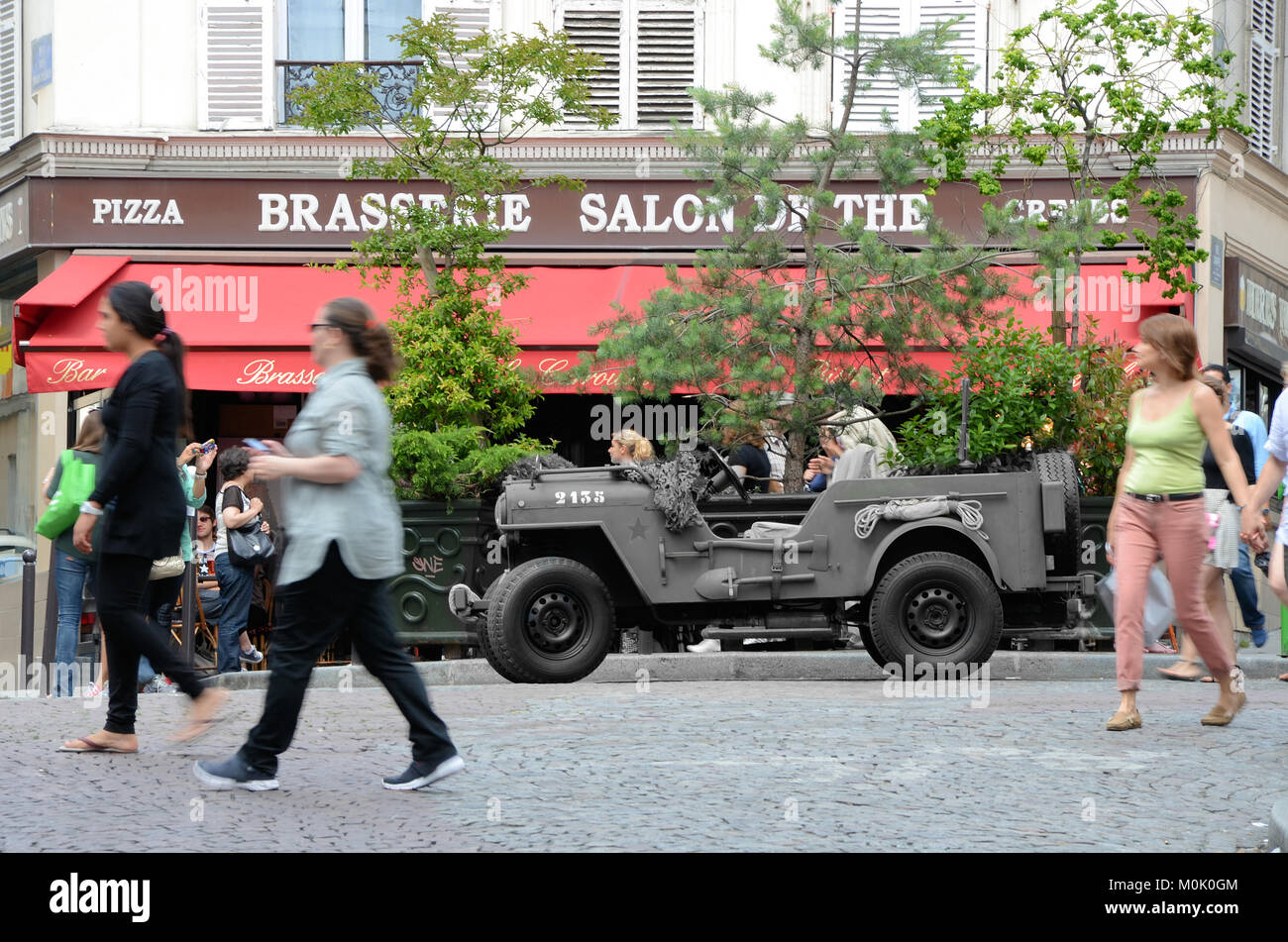 Brasserie Montmartre Stockfotos & Brasserie Montmartre Bilder - Alamy