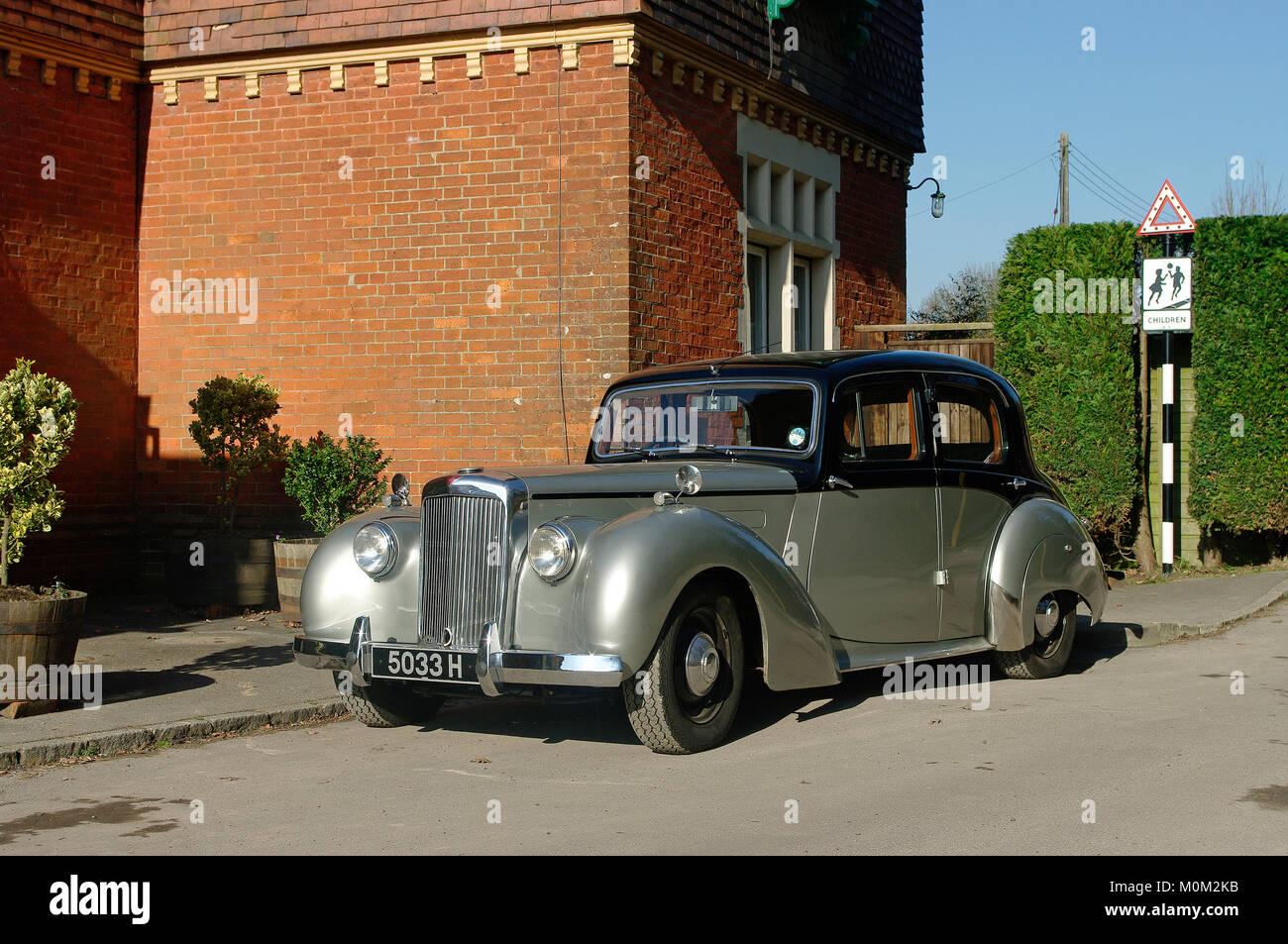 1953 Alvis TA 21 Limousine Stockbild