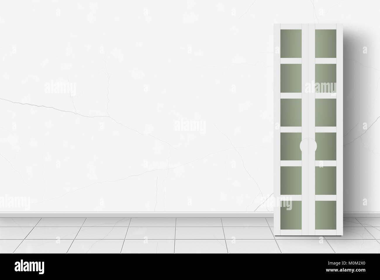 Home Möbel Interieur Moderne Garderobe Vor Der Weißen Wand