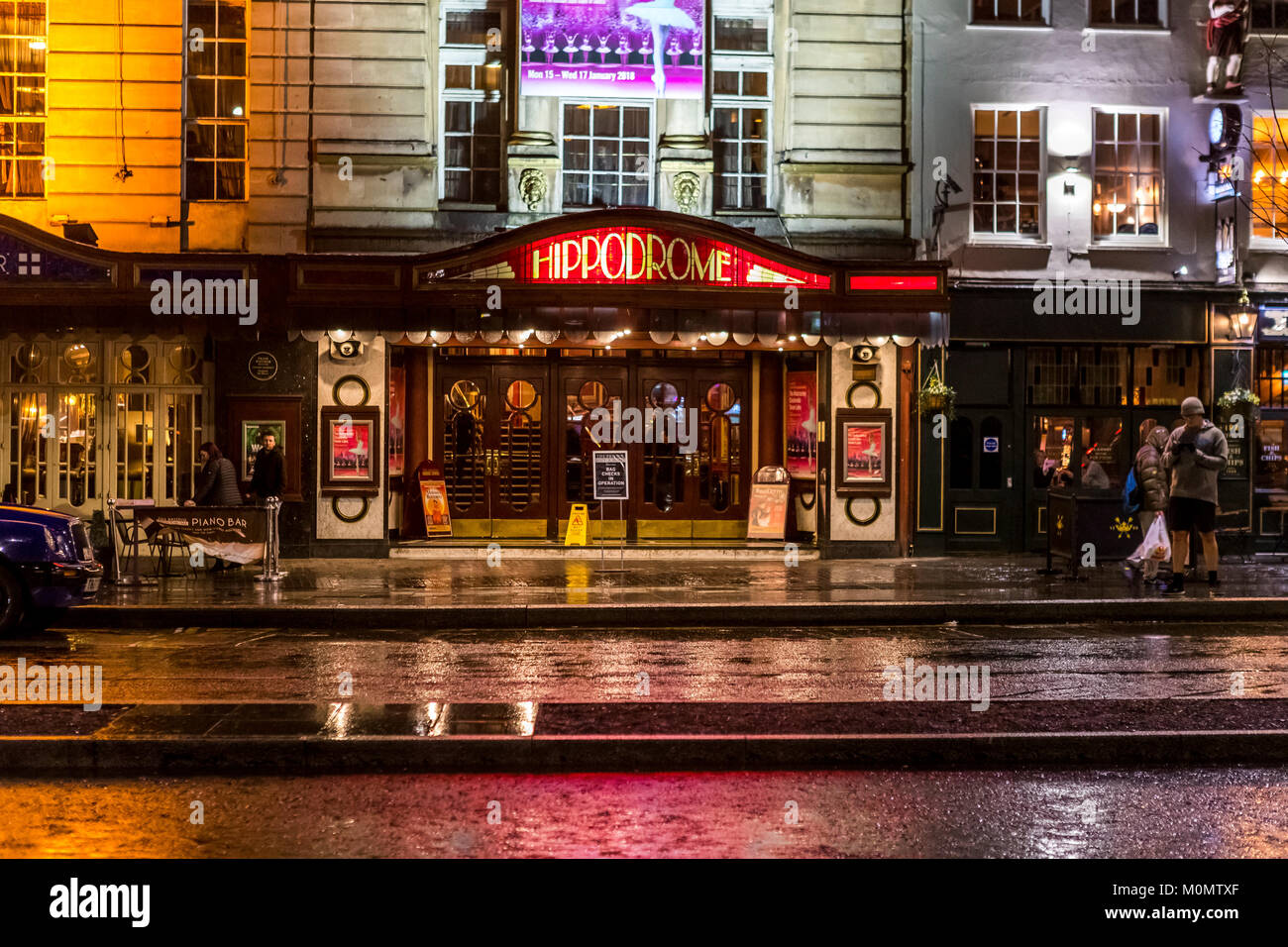 Die Hippodrome Theatre Bristol Großbritannien Stockfoto Bild