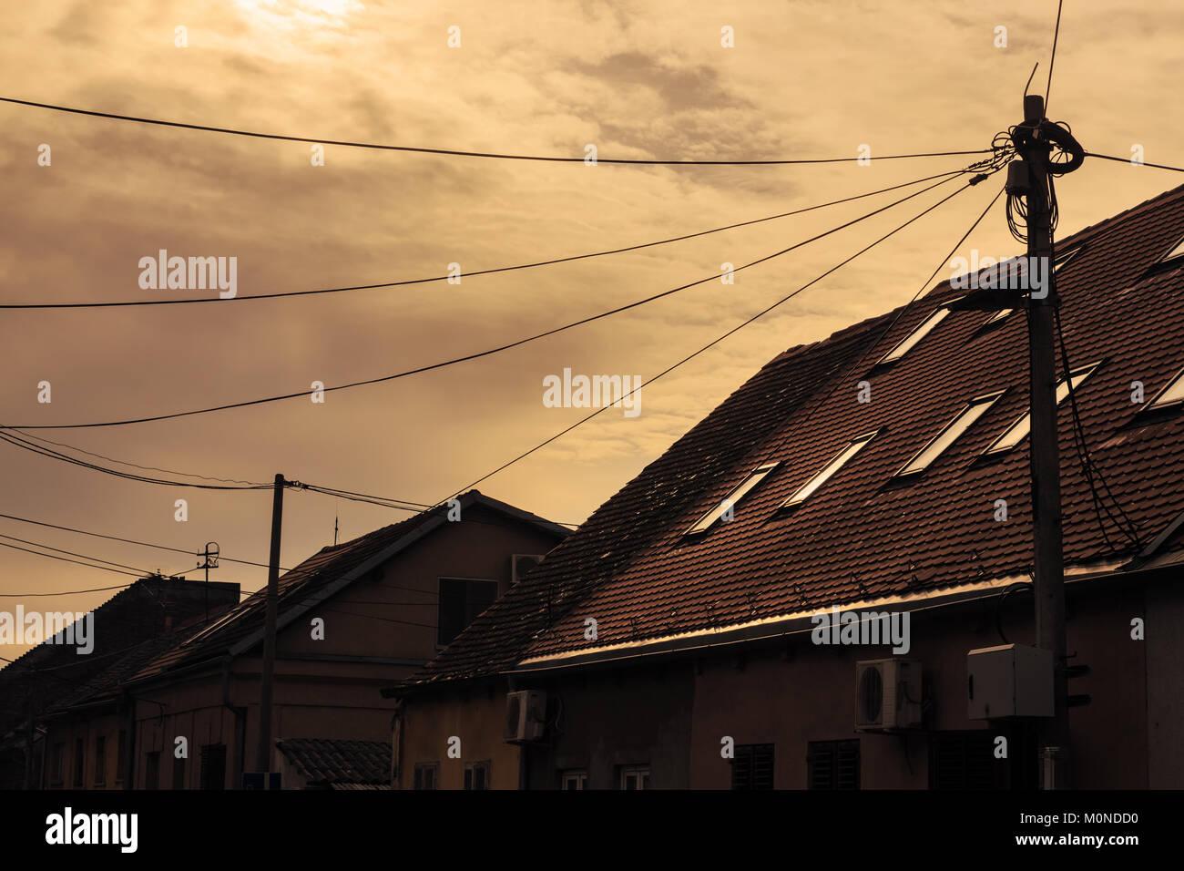 Cables Home Stockfotos & Cables Home Bilder - Alamy