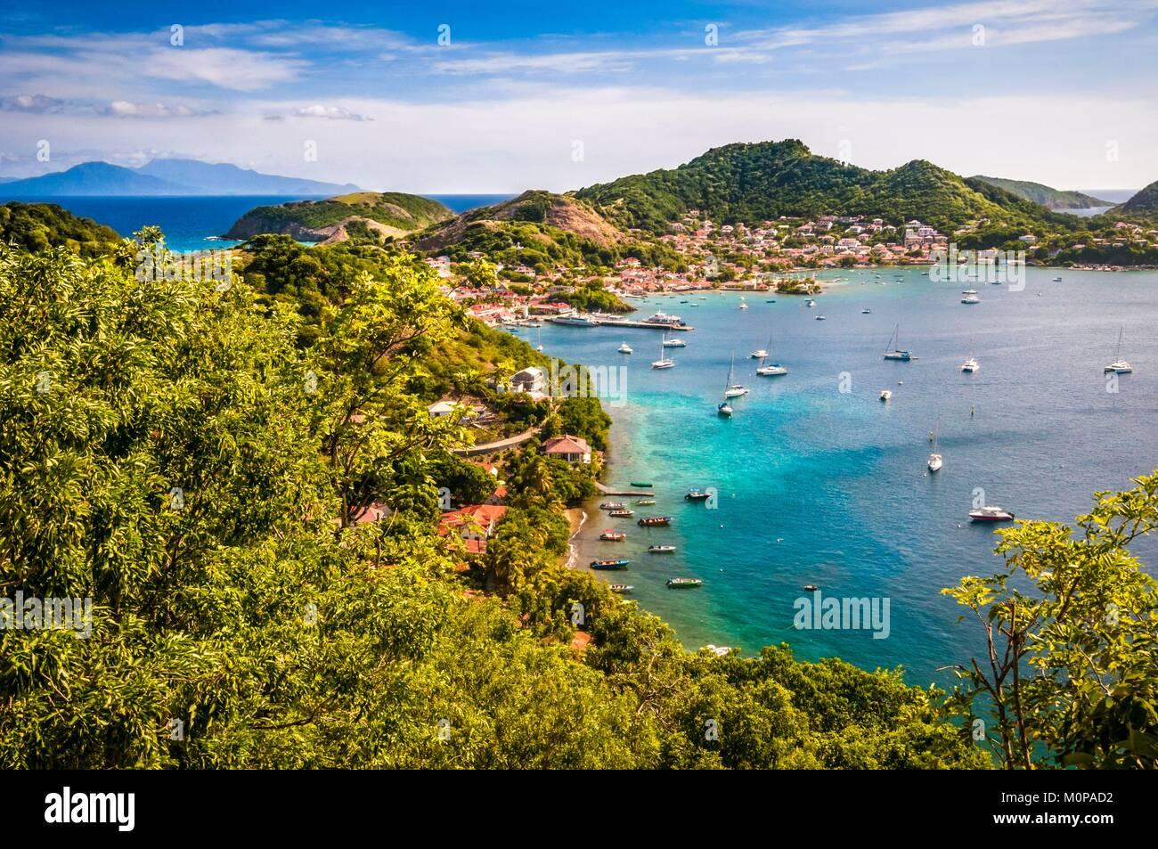 Frankreich Karibik Kleine Antillen Guadeloupe Saintes Archipel