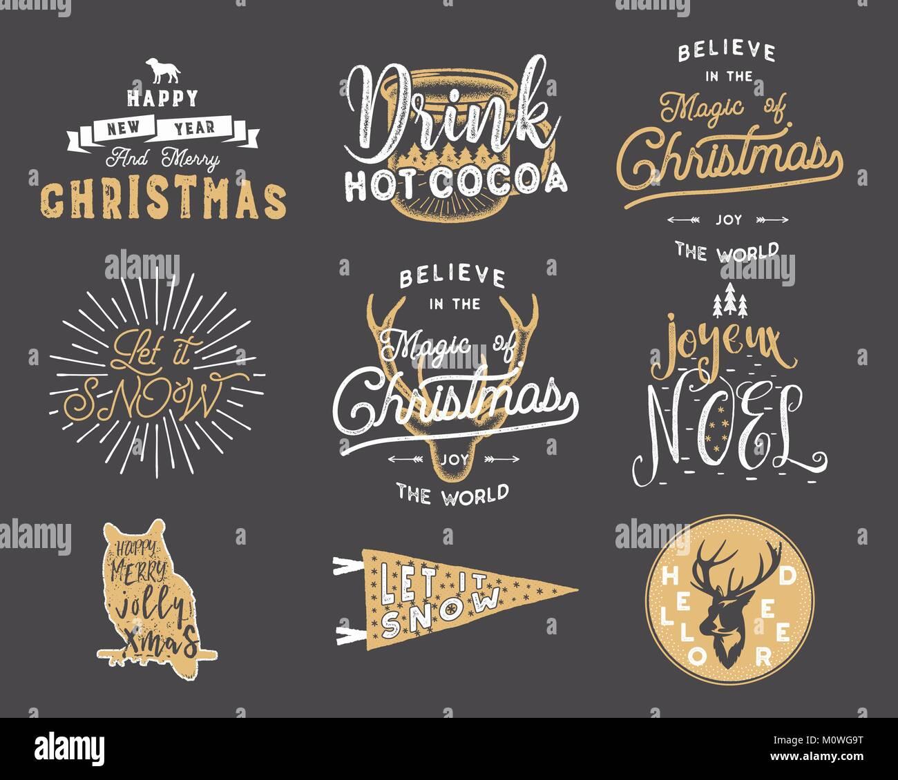 big frohe weihnachten typografie anf hrungszeichen. Black Bedroom Furniture Sets. Home Design Ideas