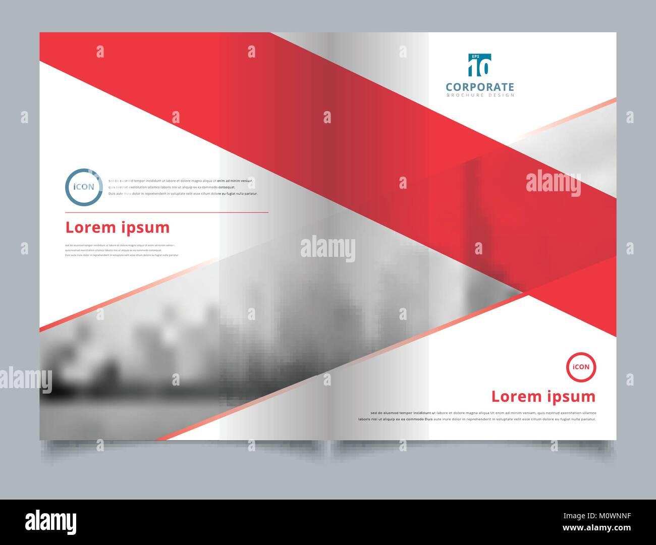 Broschüre Layout Design vorlage, Jahresbericht, Flyer, Werbung ...