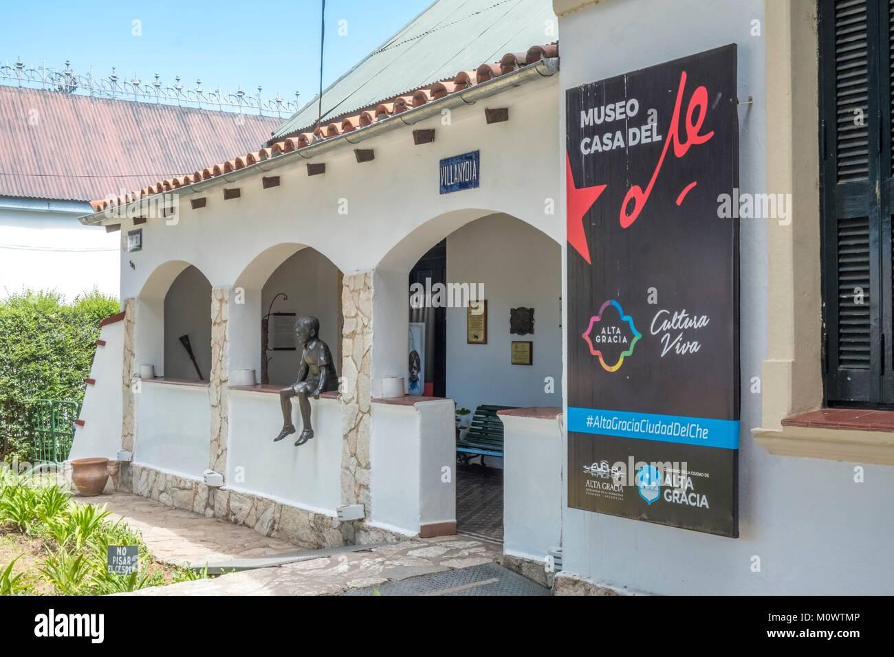 Argentinien, Provinz Córdoba, Alta Maria, Che Guevara Museum, das Museo del Che Guevara Stockbild