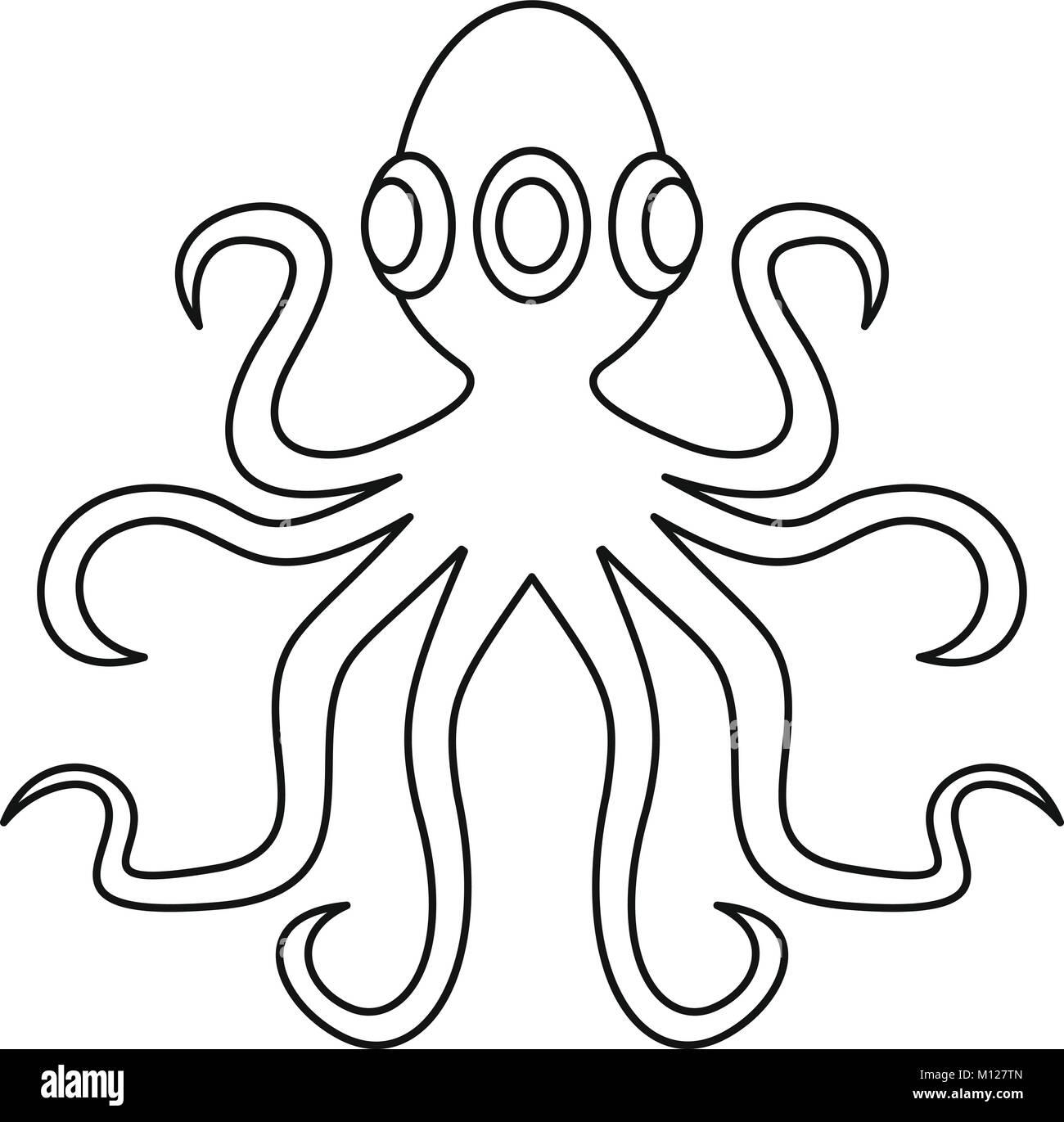 Atemberaubend Oktopus Malvorlagen Für Kinder Zeitgenössisch ...