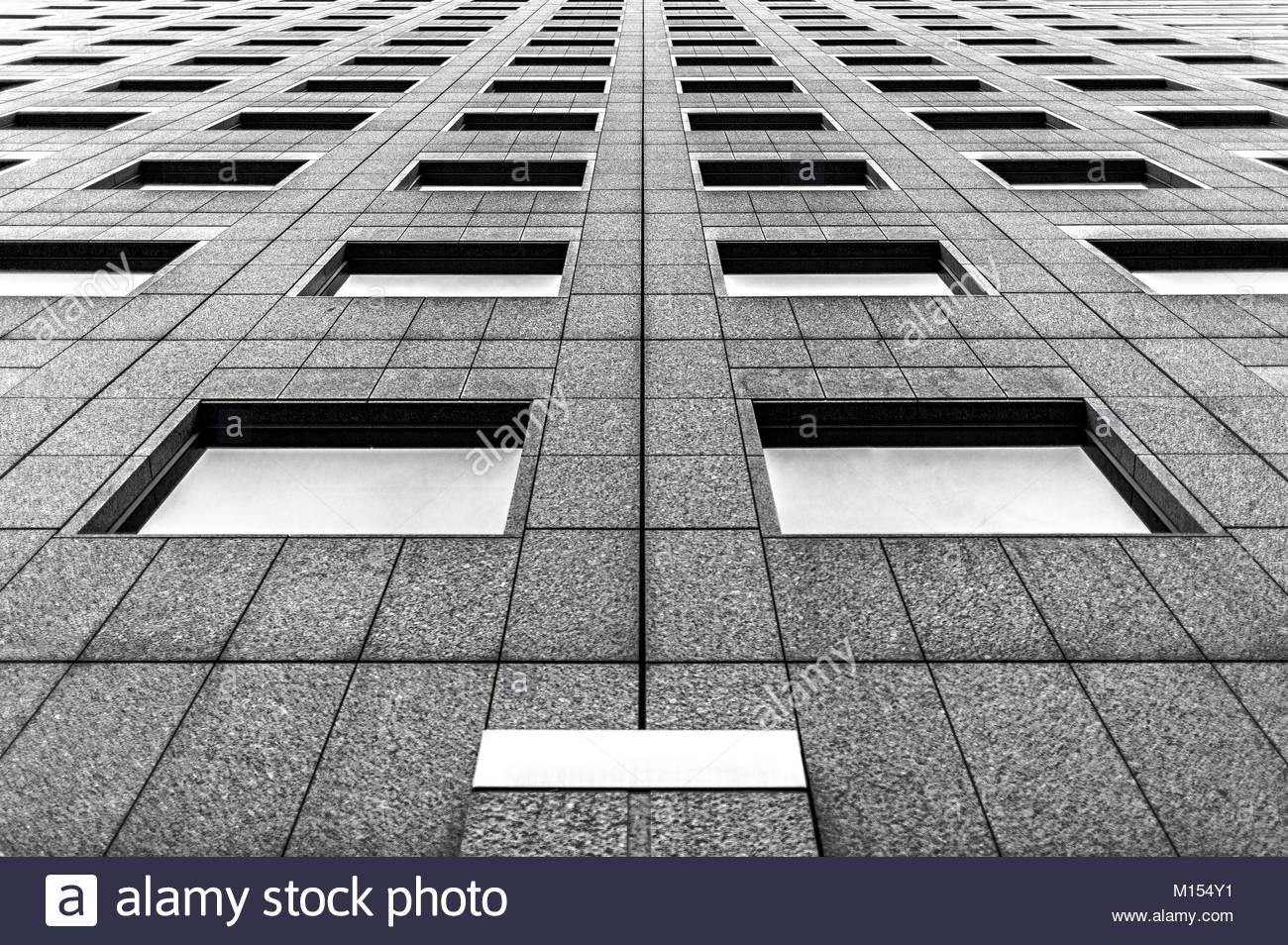 Wolkenkratzer in Tokio Stockbild