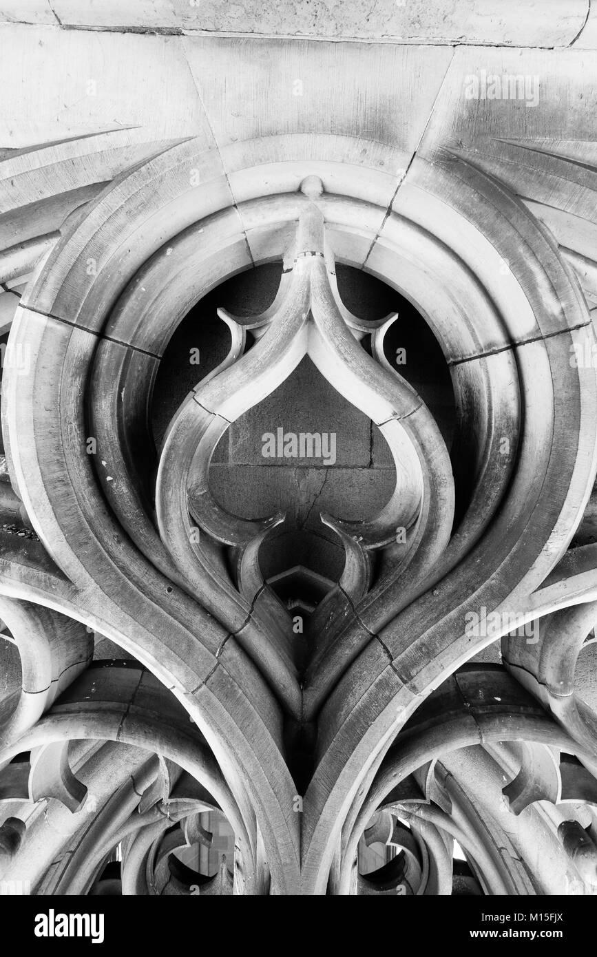 Ulmer Münster (Deutsch: Ulmer Münster) ist eine lutherische Kirche in Ulm, Deutschland. Höchsten Kirche, 5. höchste Struktur aufzubauen, bevor das 20. Jahrhundert. Stockfoto