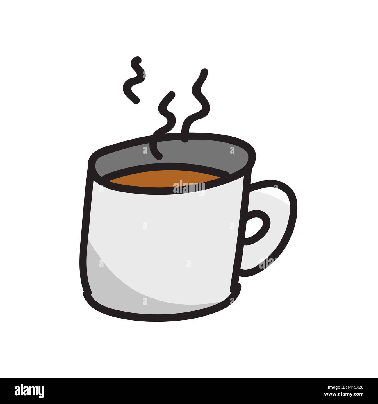 Kaffee Vektoren Stockbild