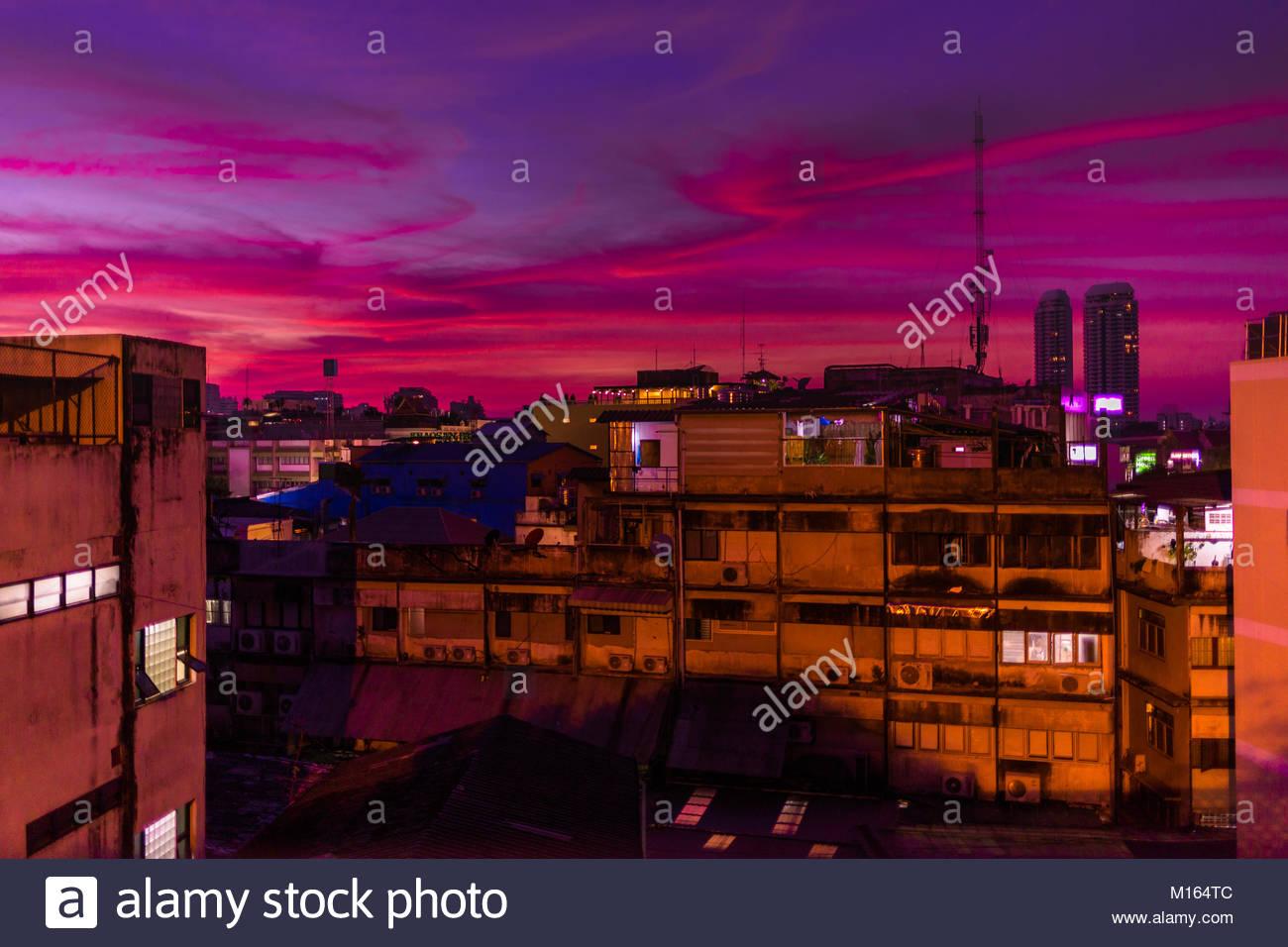 Stadt Scape von Phra Nakhon Stockbild