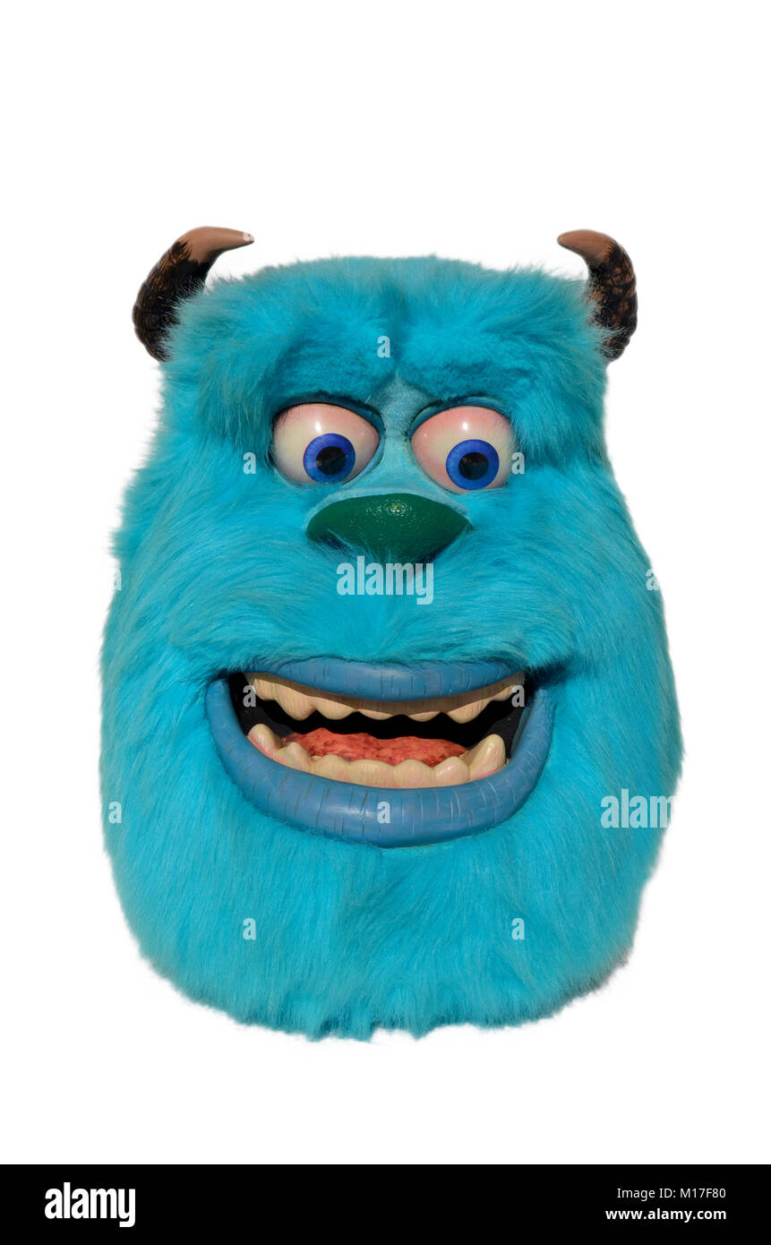 Boo Sulley Monsters Inc Stockfotos Boo Sulley Monsters Inc Bilder