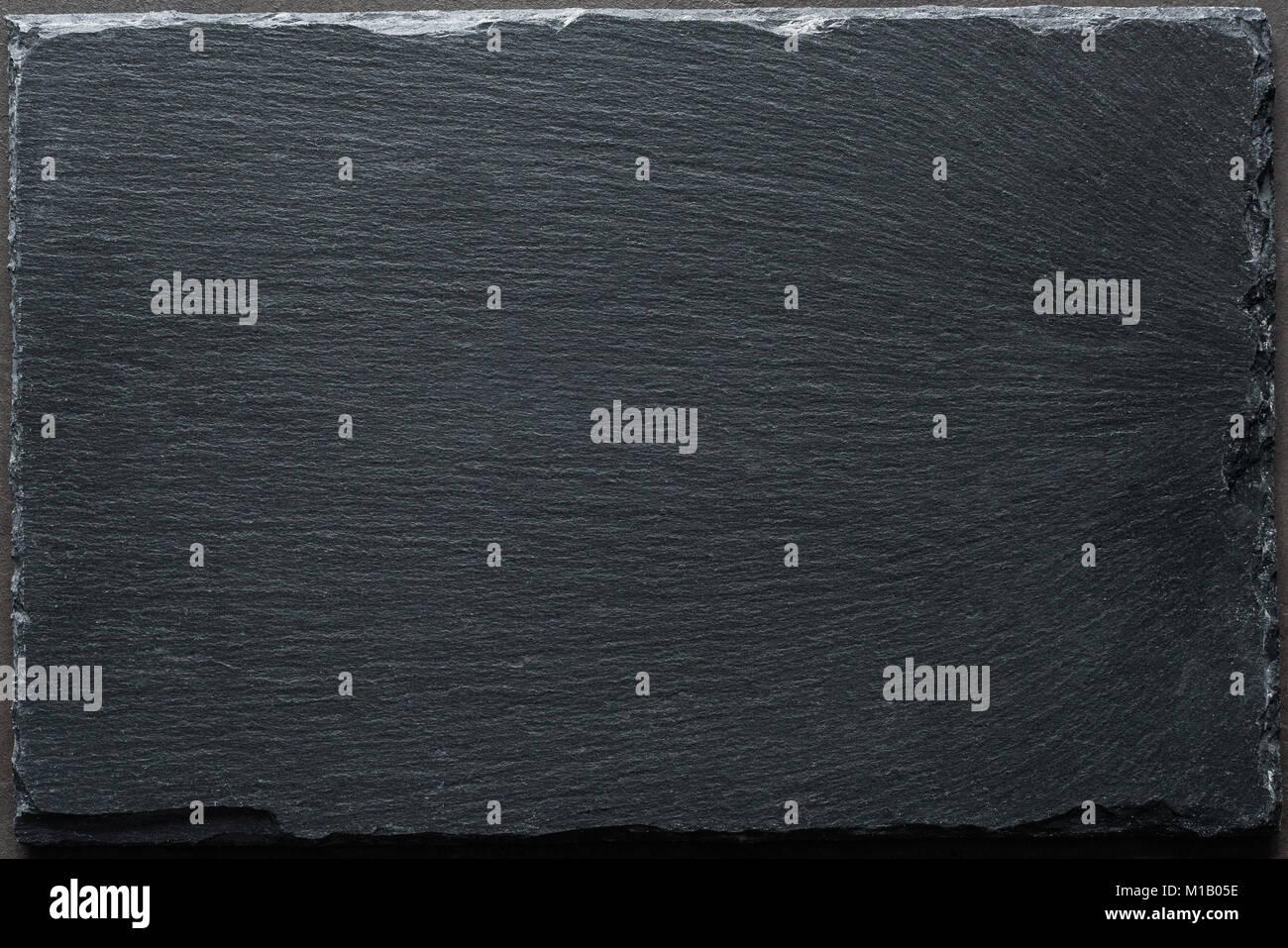 schwarzer schiefer hintergrund textur tabelle ansicht von oben kochen restaurant men. Black Bedroom Furniture Sets. Home Design Ideas