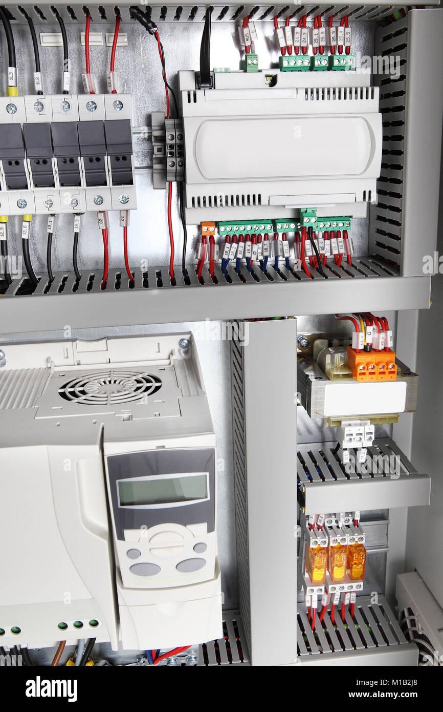 Circuit Breaker Control Stockfotos & Circuit Breaker Control Bilder ...