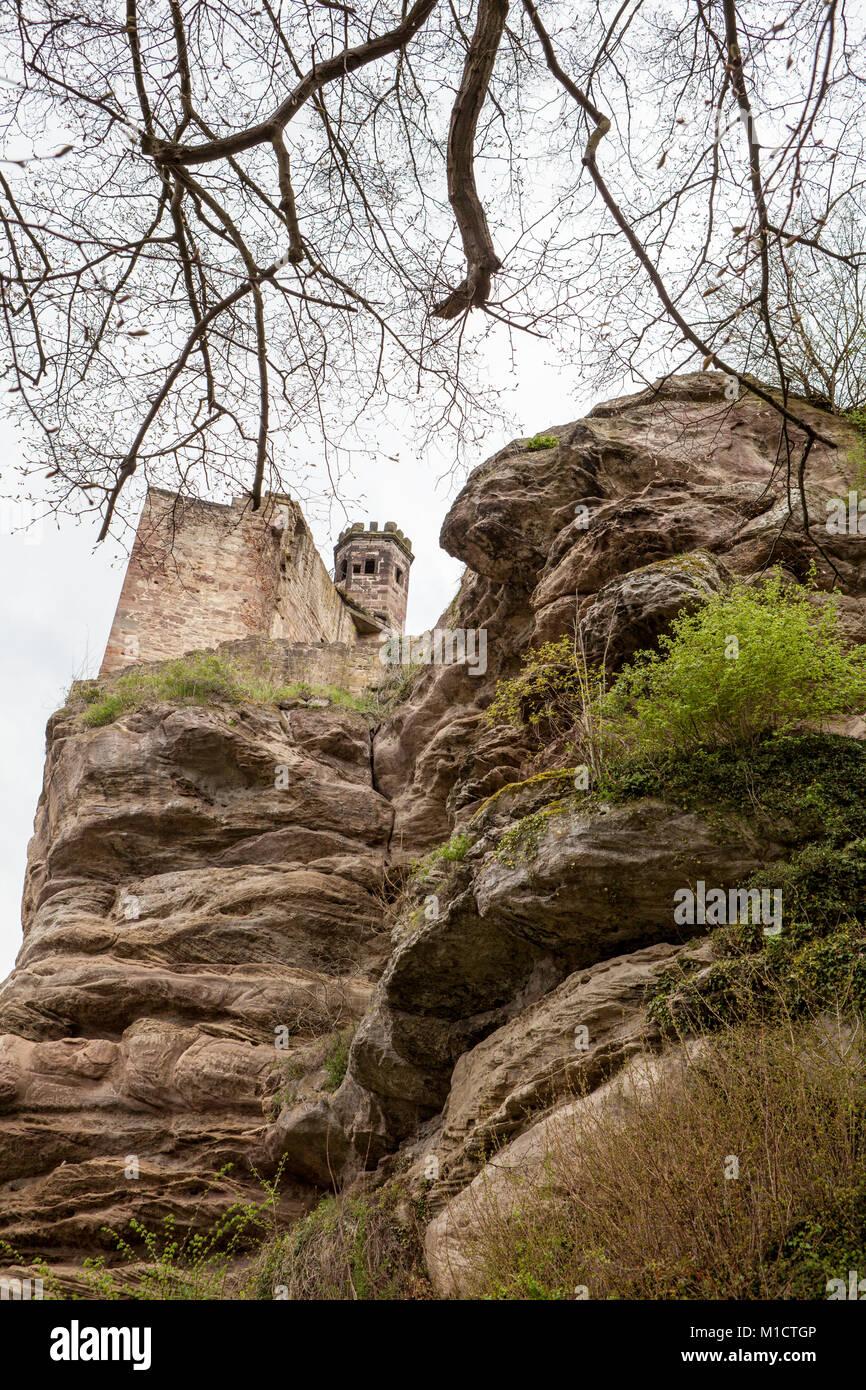 Hardenberg Schloss, in der Nähe von Nörten-Hardenberg, Landkreis Northeim, Niedersachsen, Deutschland Stockbild
