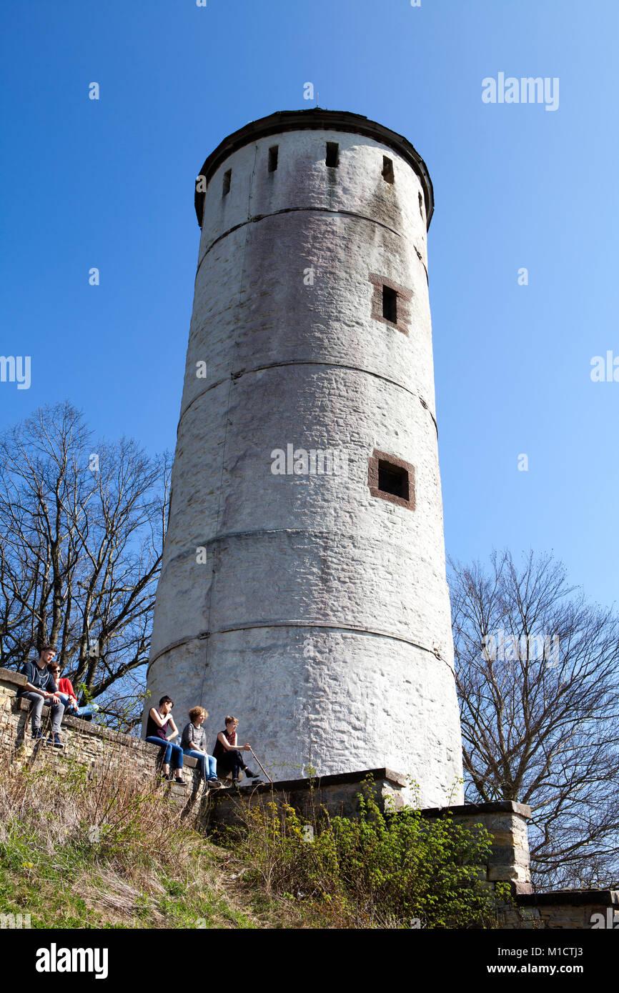 Burg Plesse, Niedersachsen, Deutschland Stockbild