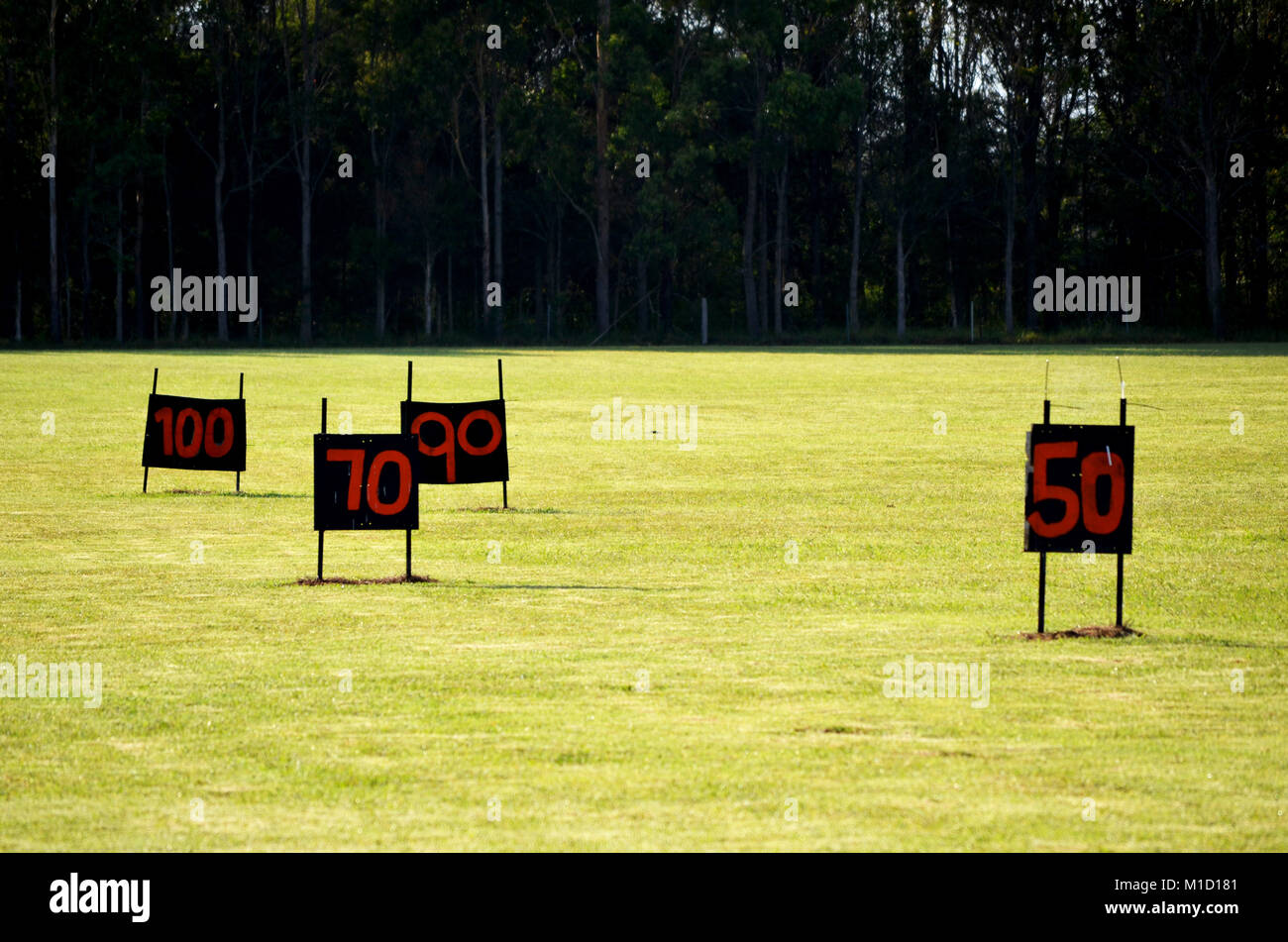 Golf-driving-range Stockbild