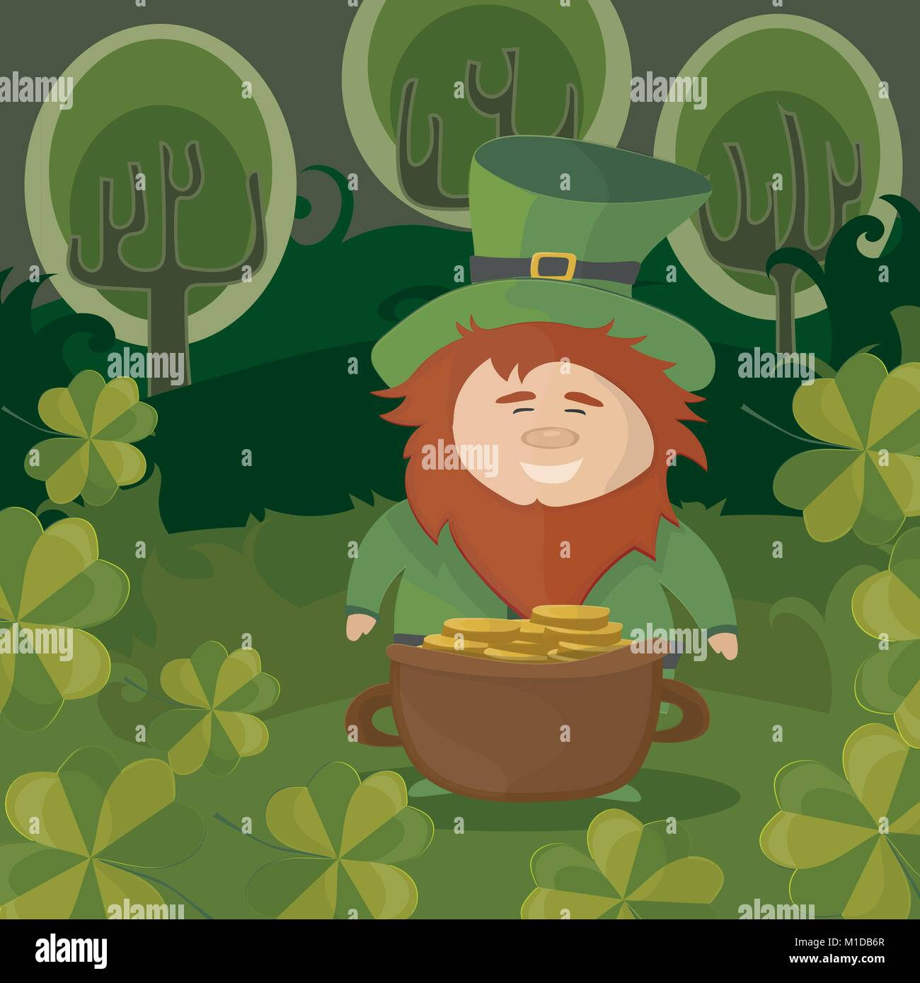 Cartoon Pot Gold Stockfotos & Cartoon Pot Gold Bilder - Alamy